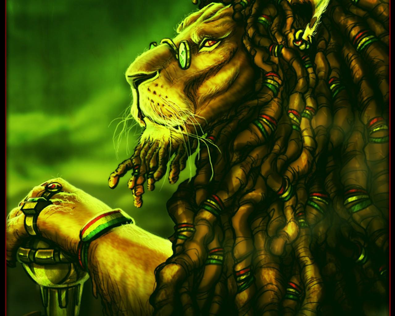 Rasta Lion Hd Wallpaper Rasta Wallpapers HD Wa...