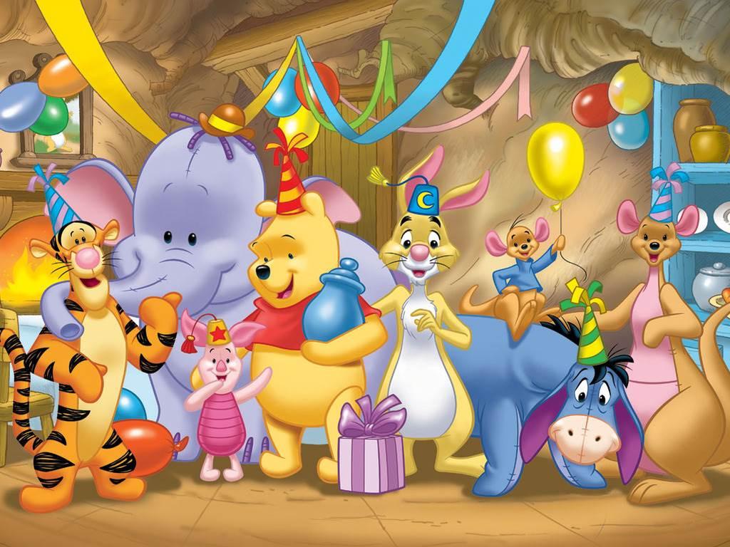 Поздравление мультяшное с днём рождения