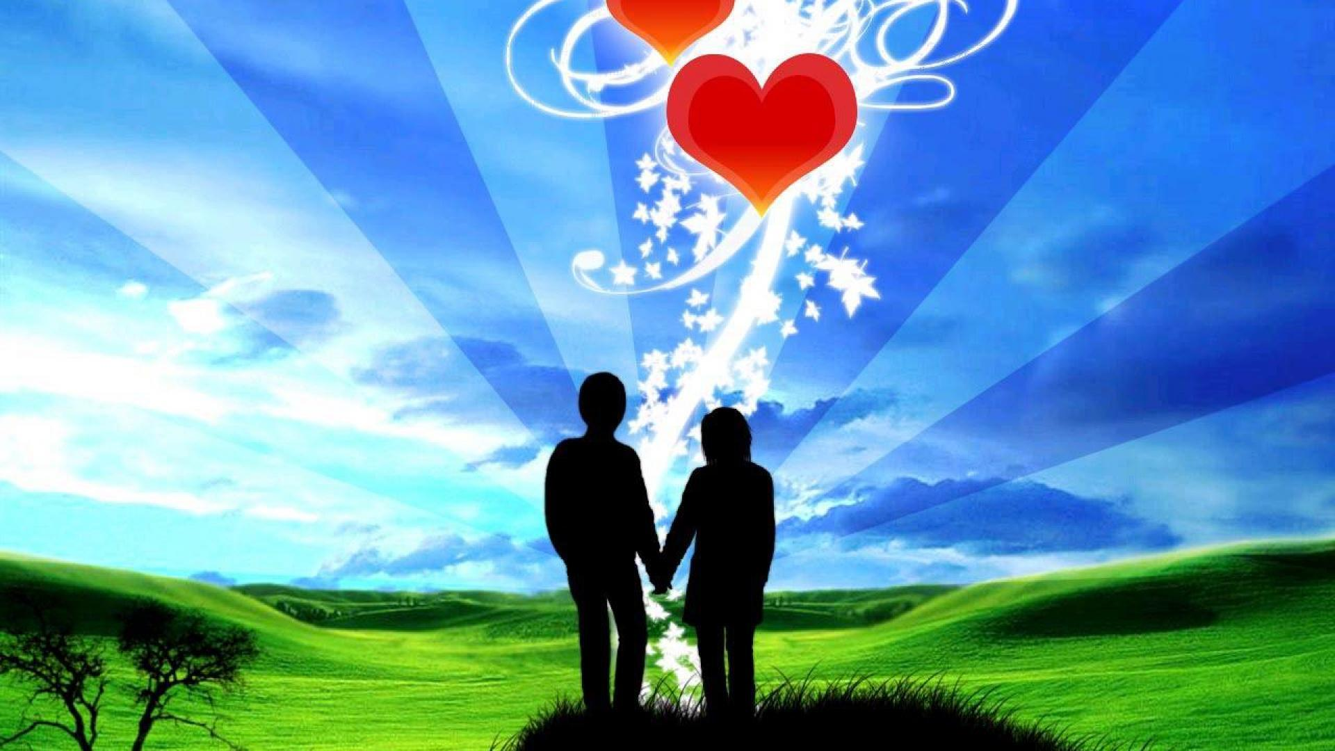 Little Boy And Girl In Love Love Wallpapers Free Download