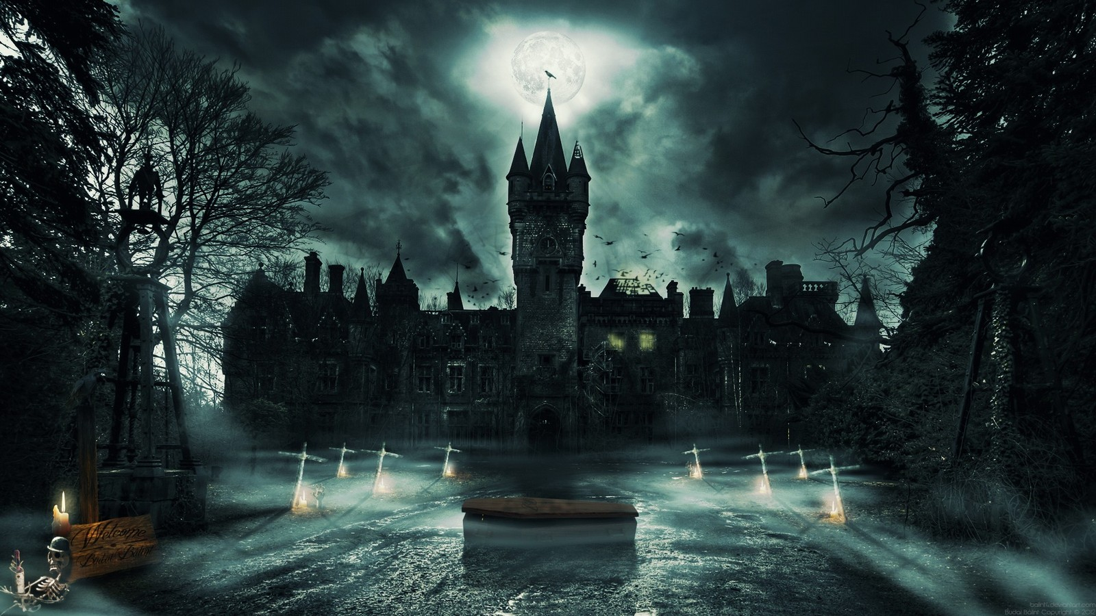Best d Horror And Night Horror Wallpapers  Wallpaper