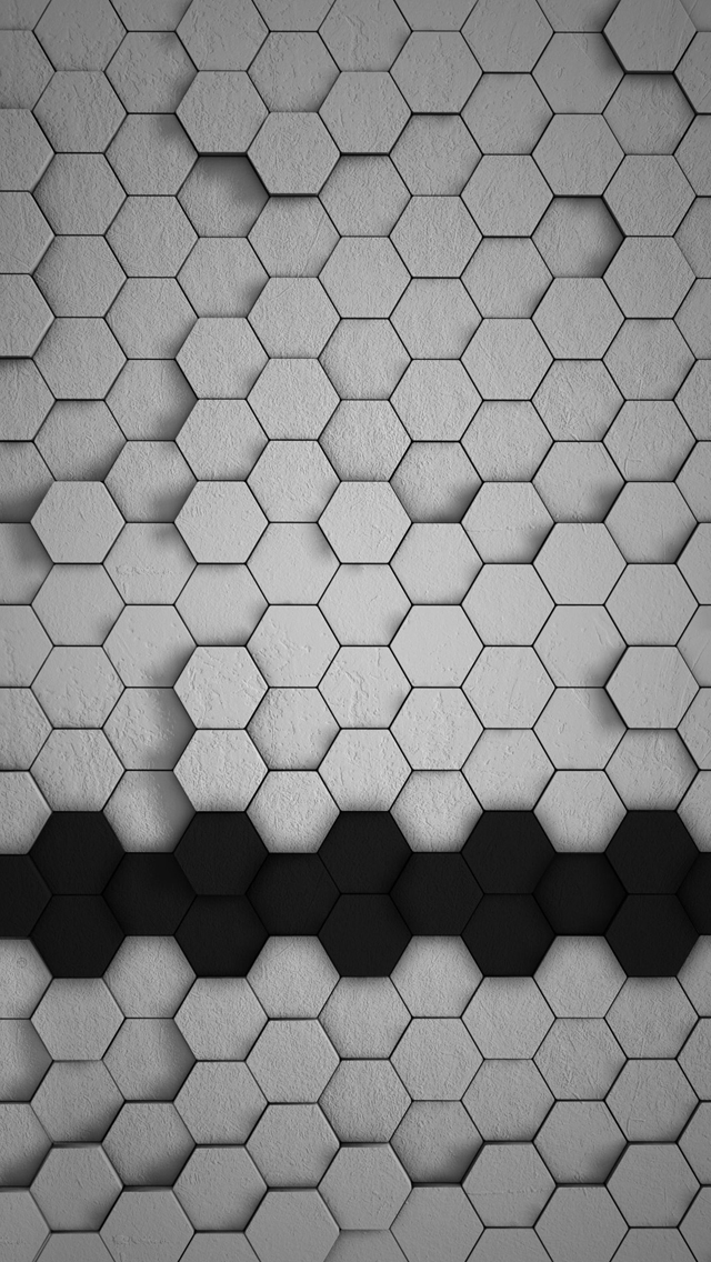 white gray and yellow d tiles iphone wallpaper 640x1136