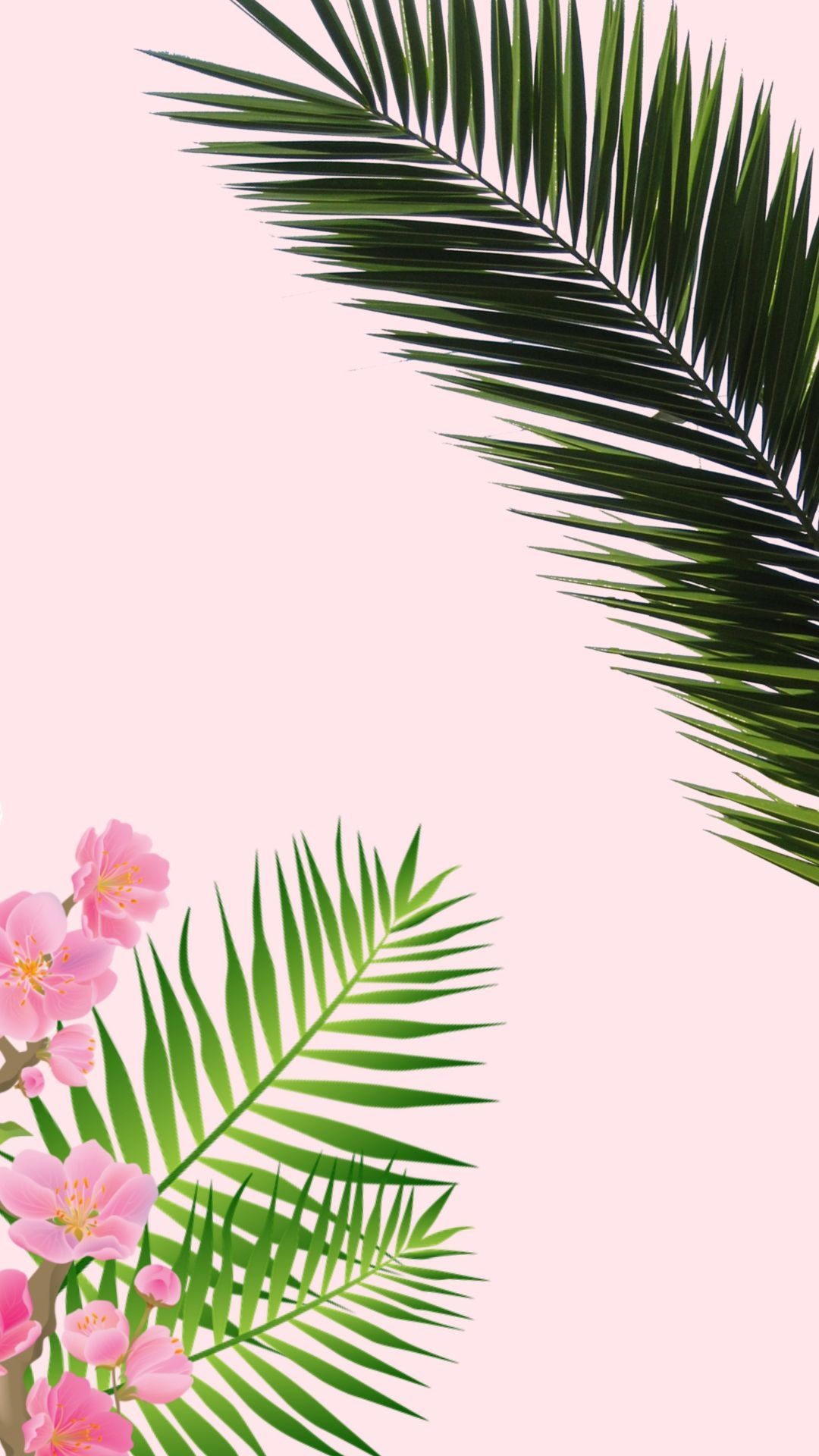 Iphone Wallpaper Vintage Elegant Tropical Wallpaper Iphone