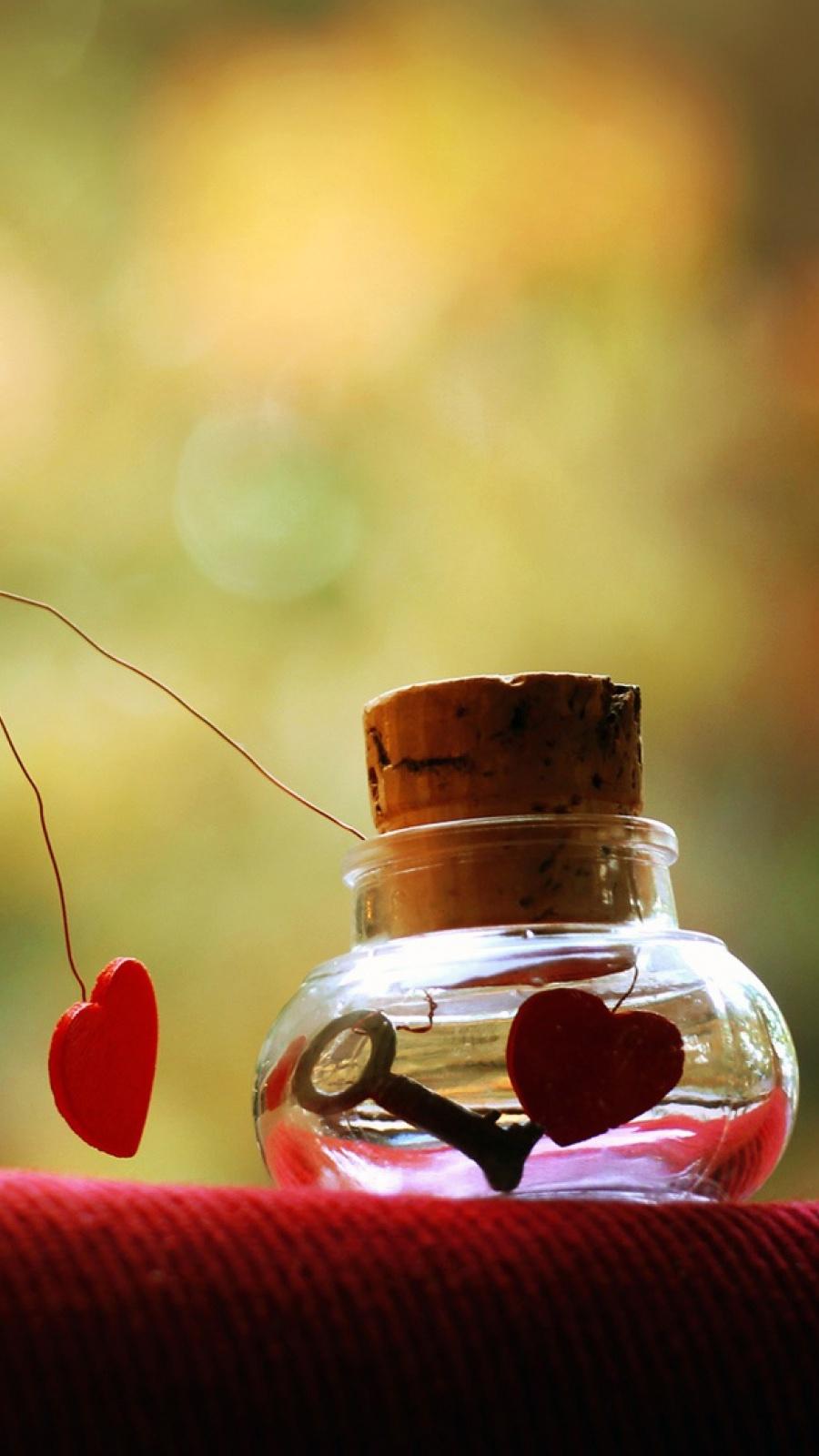 D Love Hd Wallpaper Beautiful Heart Image Heart Background Full