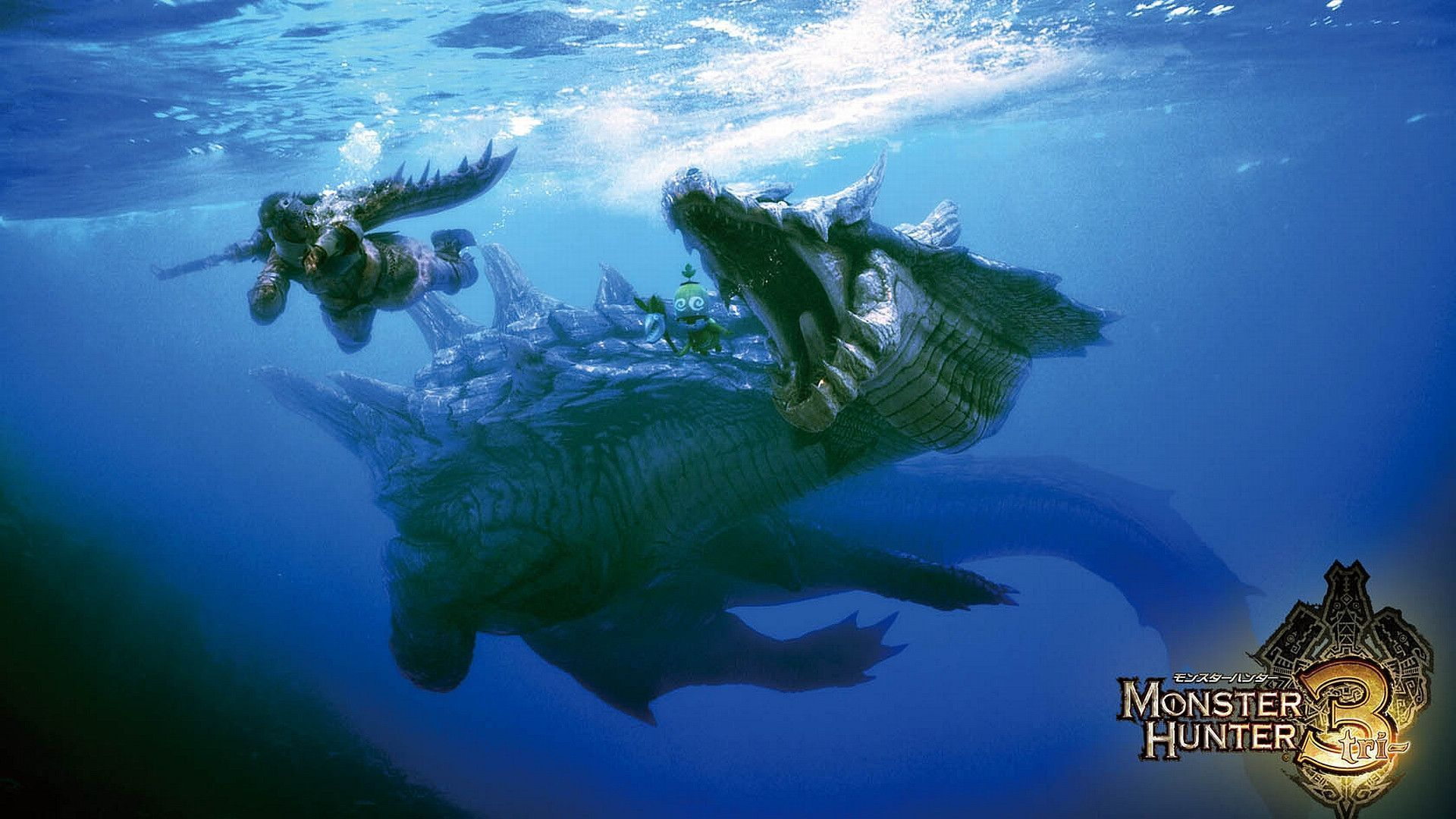 Monster Hunter Freedom Hd Wallpapers Backgrounds Wallpaper 1920x1080