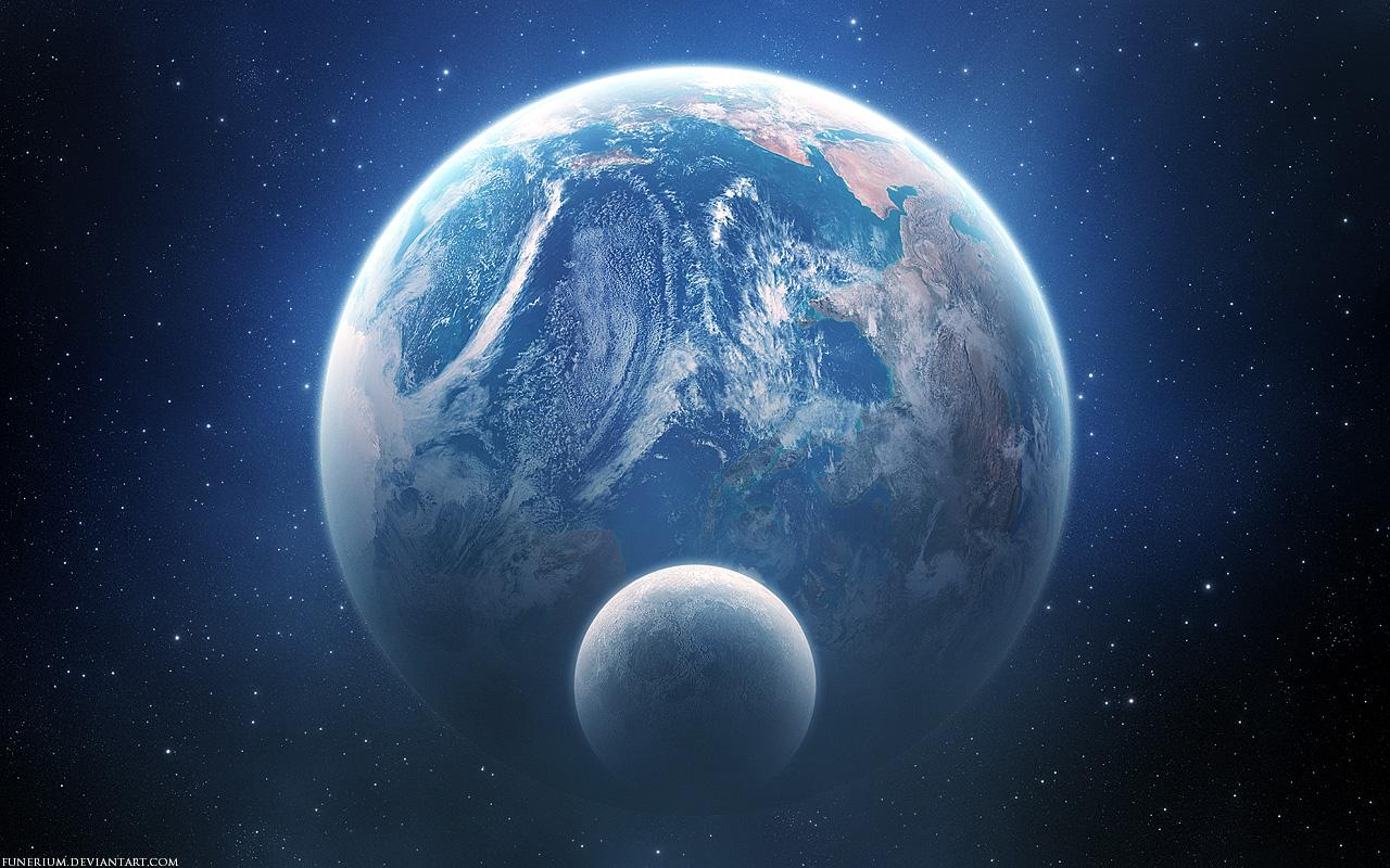 TM Planets Universe HD Desktop Wallpaper Widescreen High 1280x800