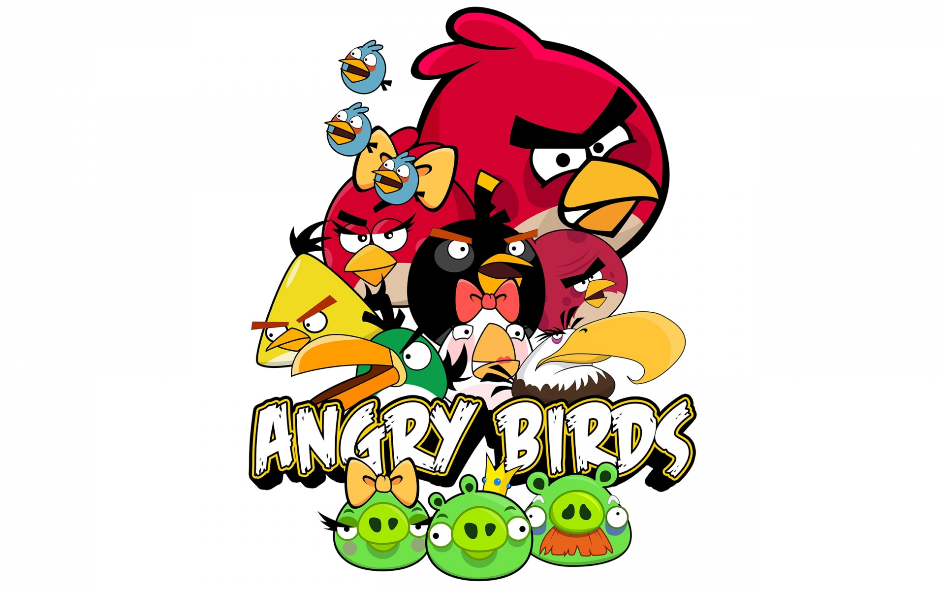 Angry birds game HD wallpaper mytechshout Angry Birds Wallpapers HD  1920x1200