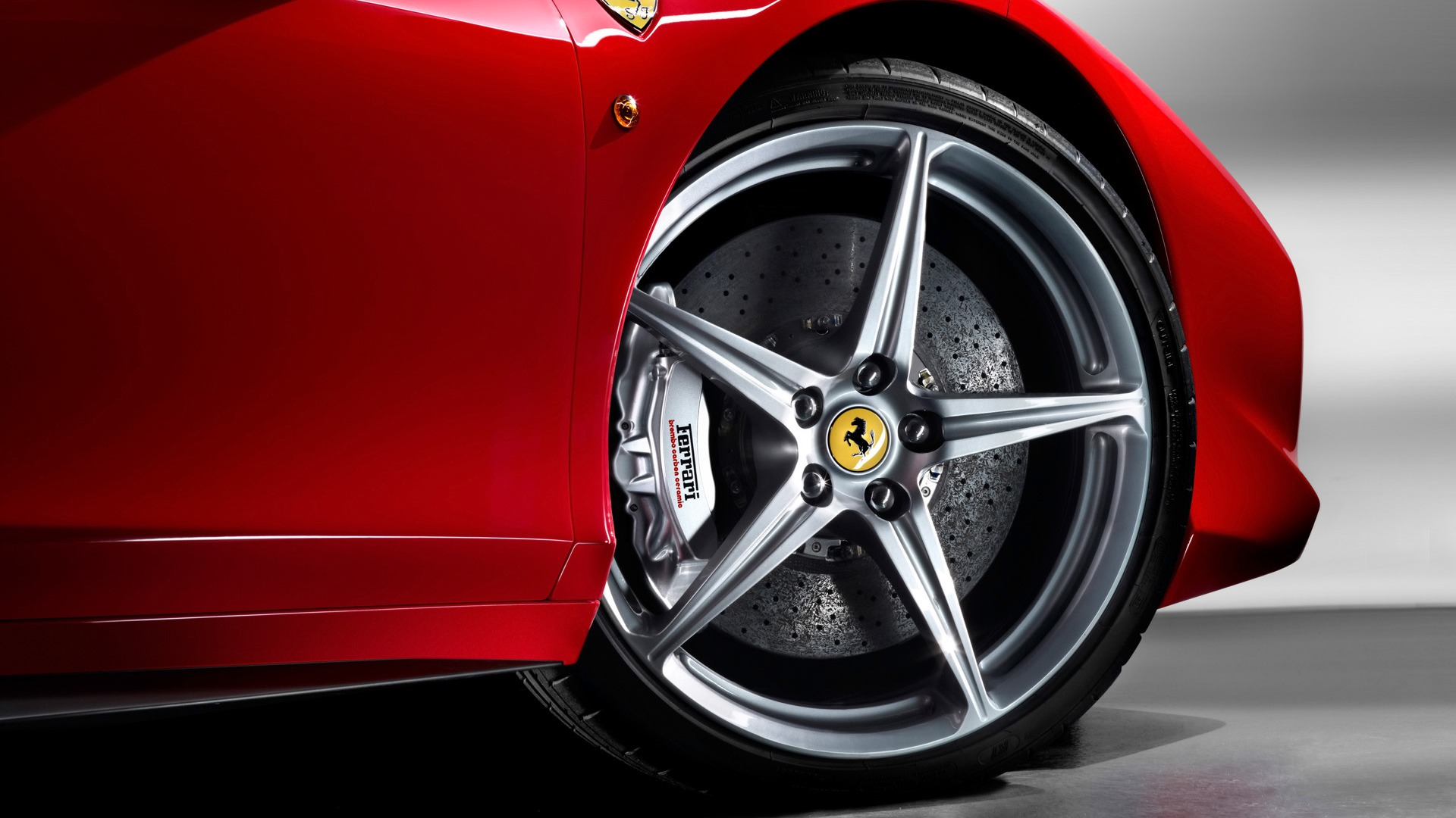 WallpapersWide Ferrari Emblem HD p Wallpapers Download  Forza Ferrari 1920x1080