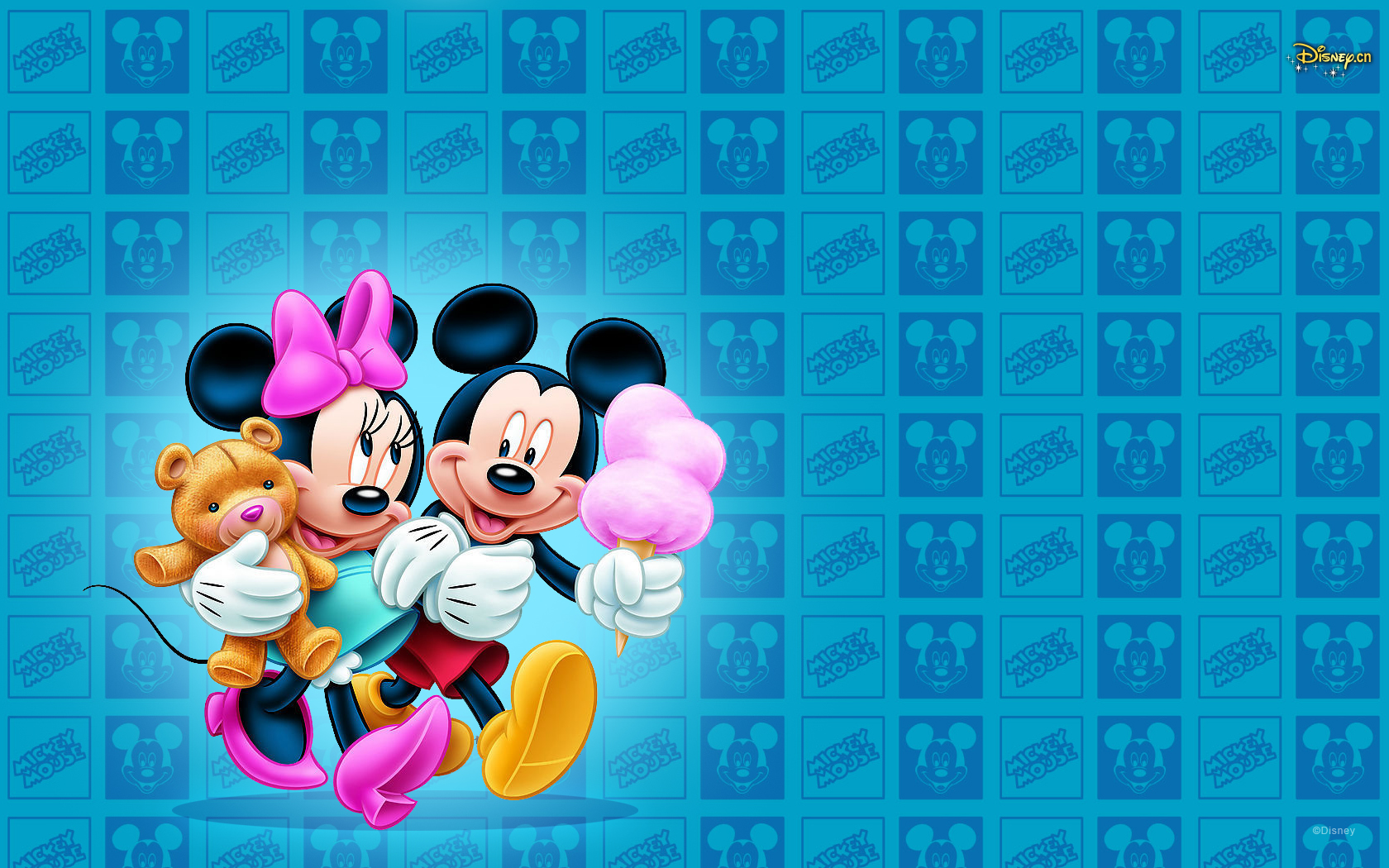 Mickey And Minnie Mouse Photo By Love Desktop Hd Wallpaper For Pc 1680x1050