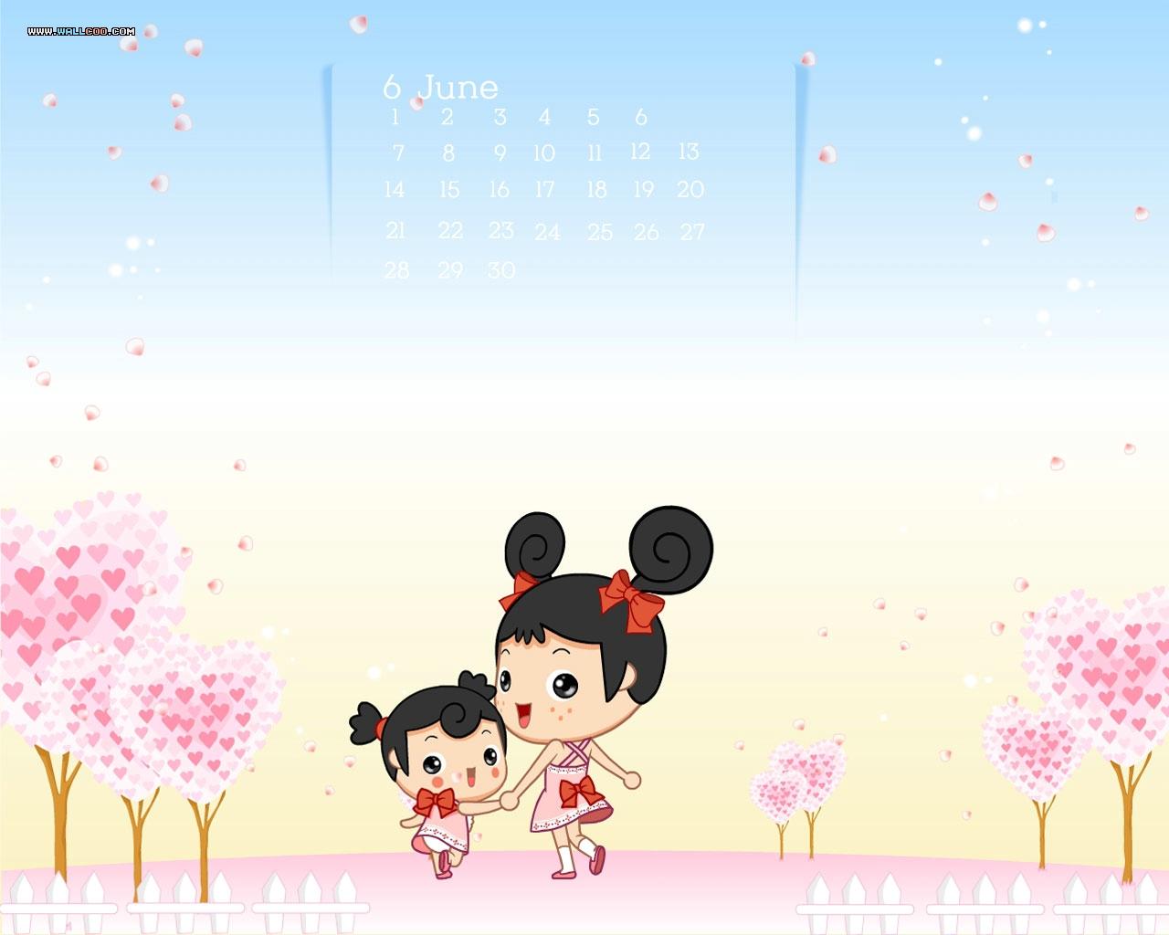 Beautiful Animated Girls Wallpaper 1280x1024