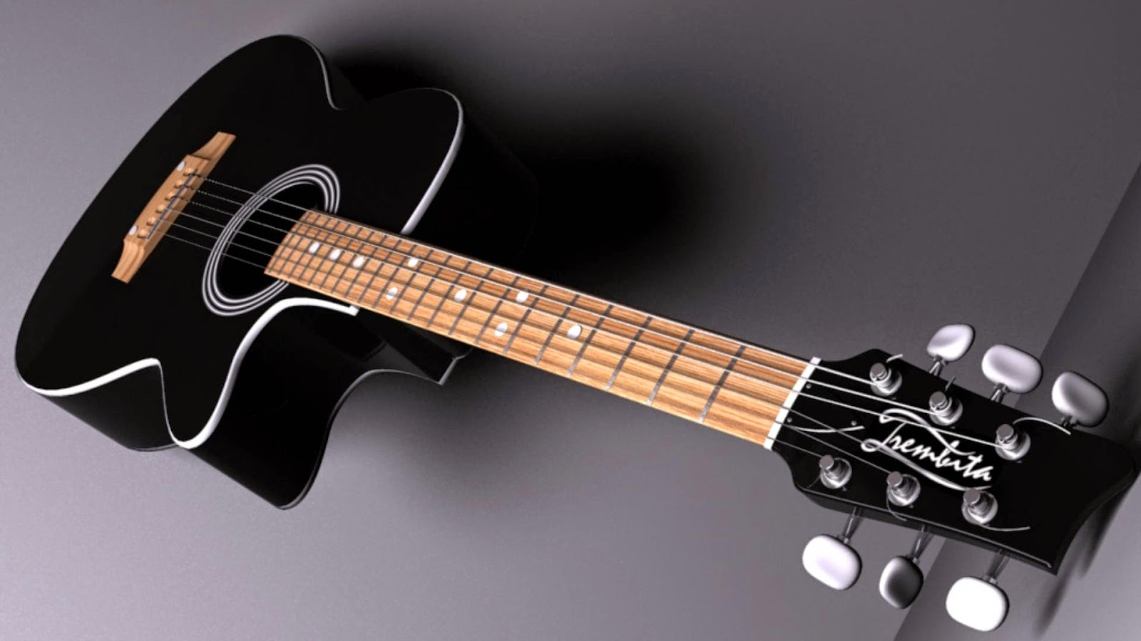 Acoustic Guitar Wallpapers Hd 1600x900