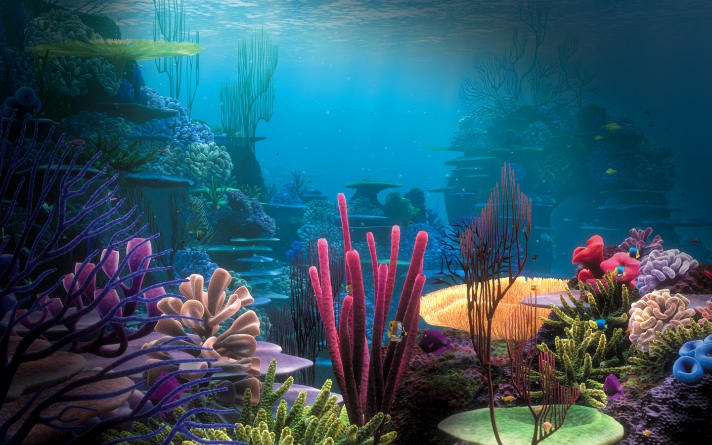 under the sea wallpaper wallpapersdb 1440x900