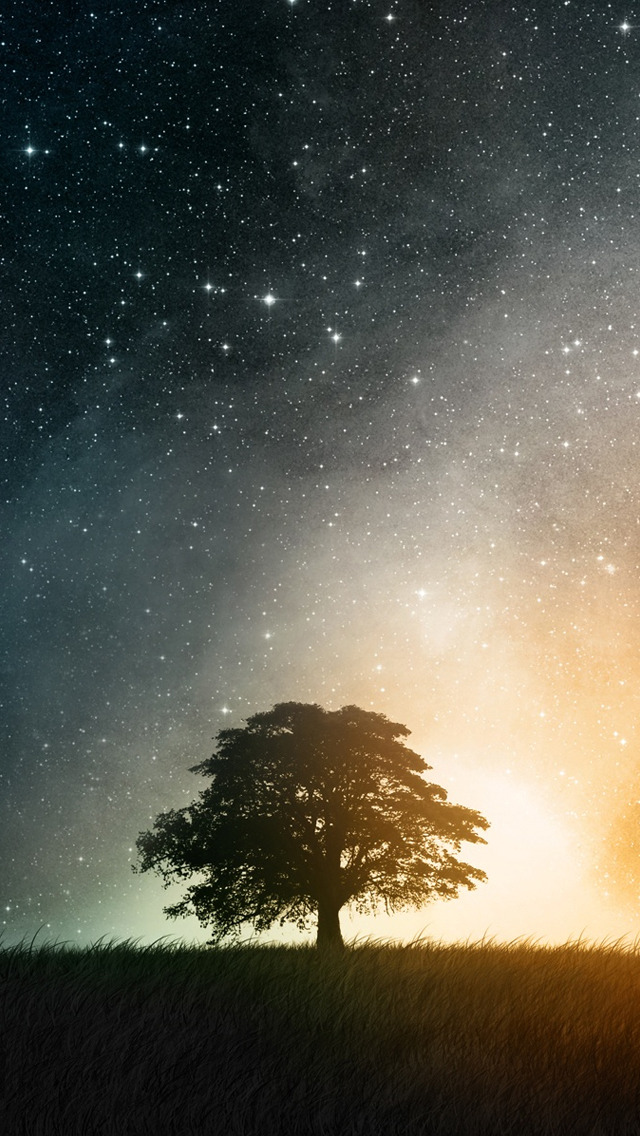 Space Clean IPhone S Wallpapers Free 640x1136