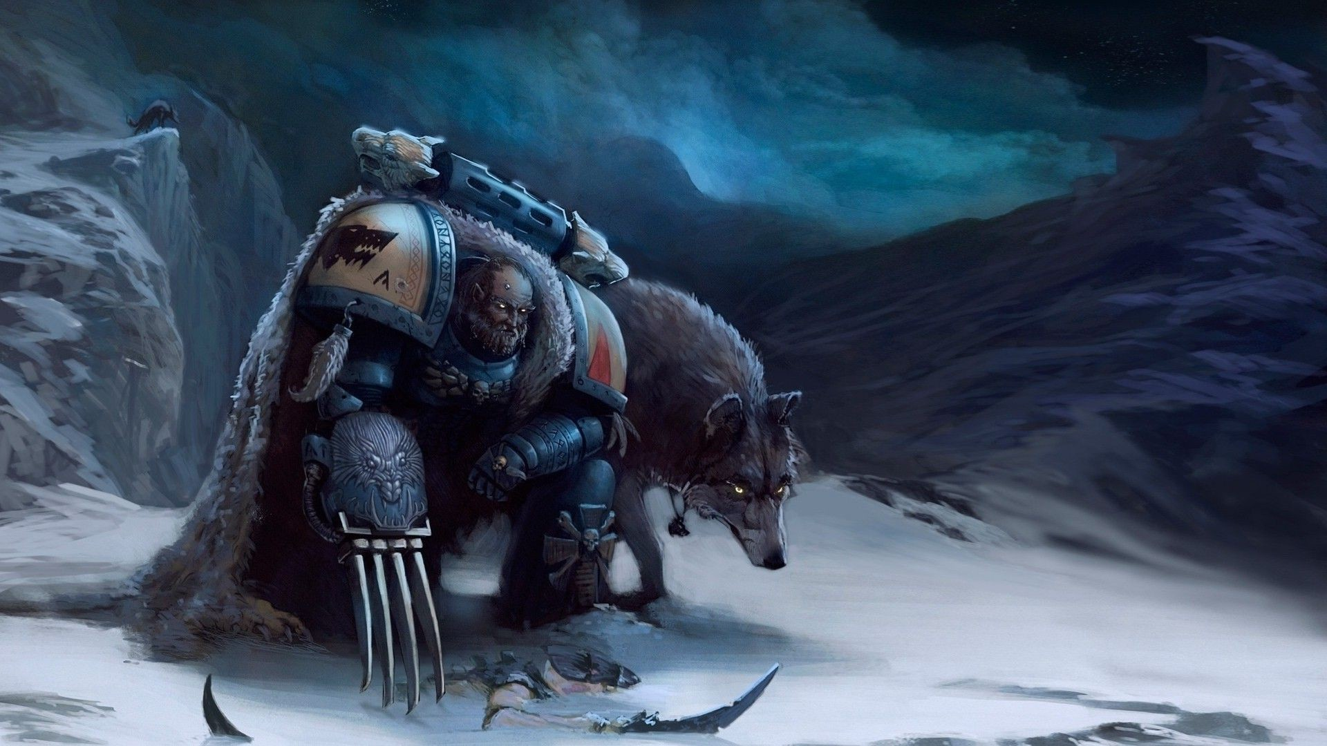 Warhammer K Space Wolves Wallpaper