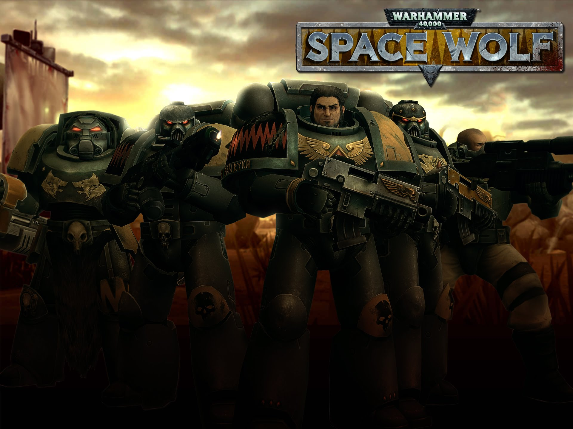 Warhammer K Space Wolf Gameplay Android iPhone et iPad par