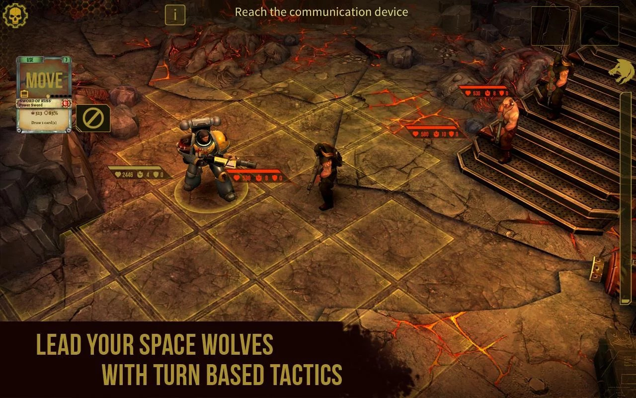HeroCraft Launches Warhammer K Space Wolf on