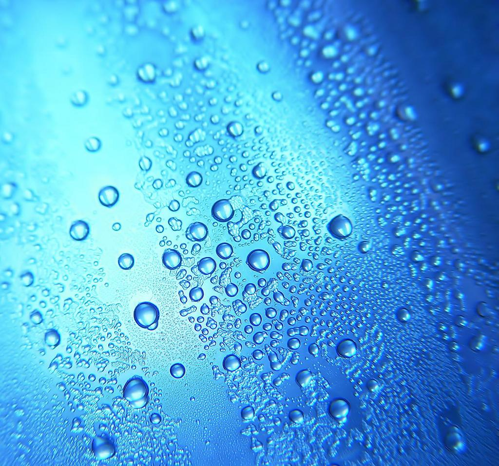 iOS Water Droplet Wallpaper   1024x957
