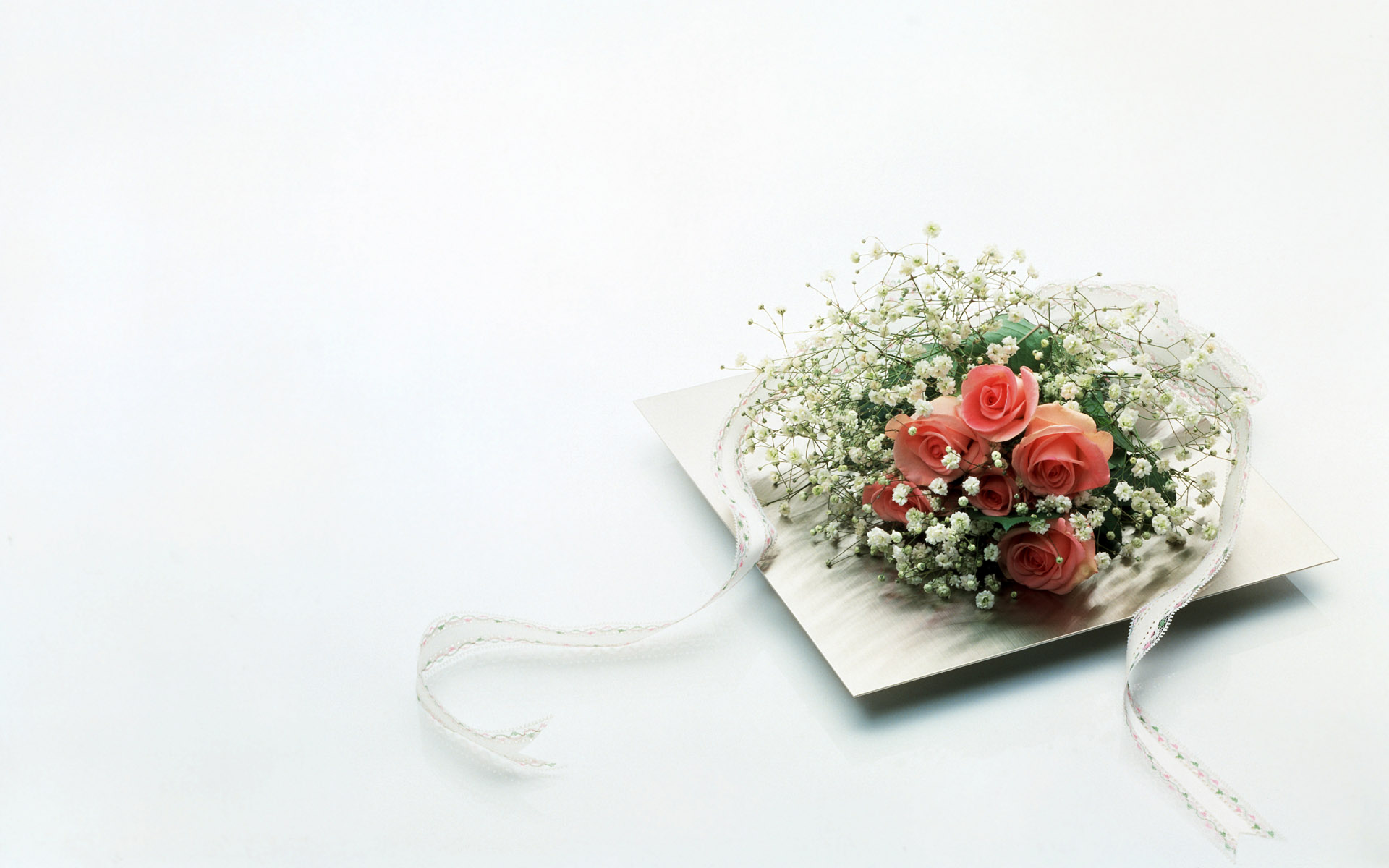 Wedding Background with Red Rose and Rings Pretty backgrounds ...