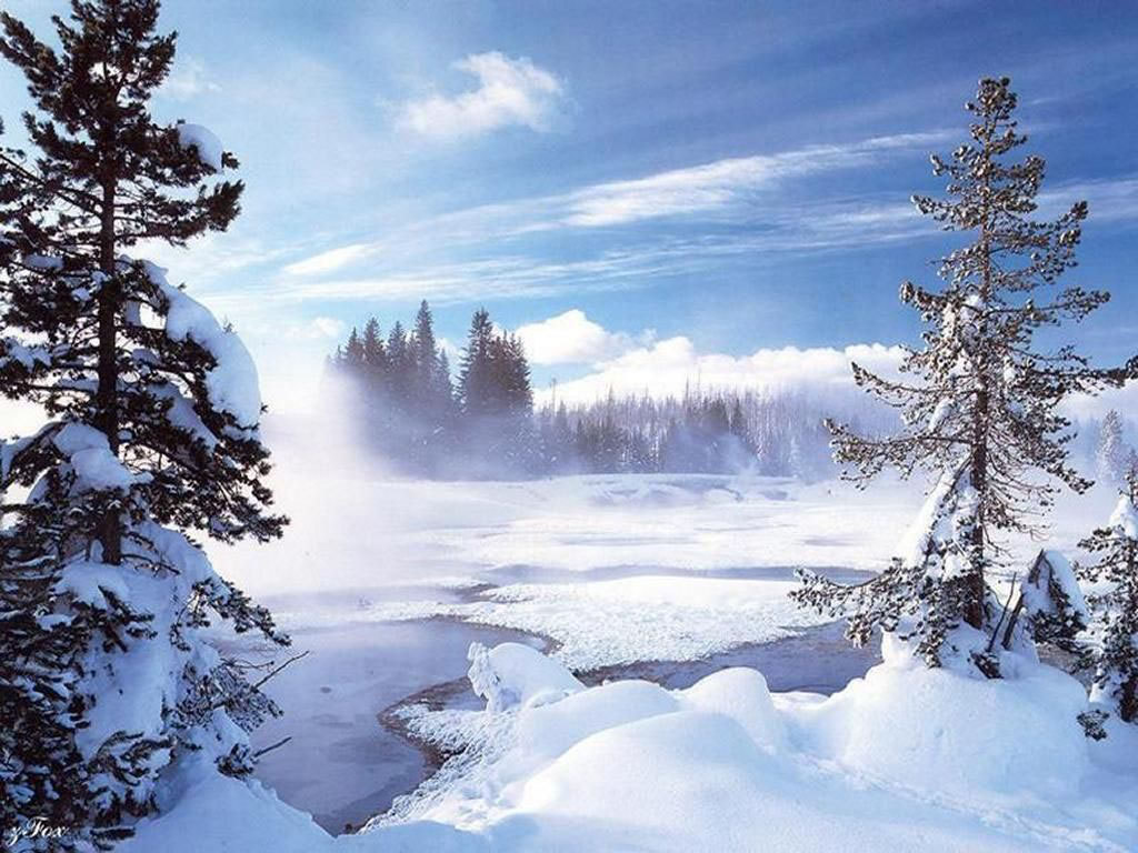 Winter Cabin Wallpaper Wallpapers Browse 1024x768