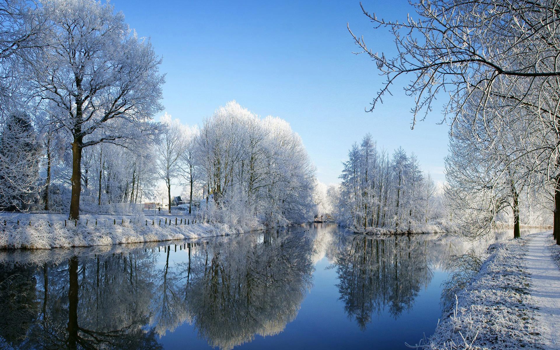 desktop backgrounds free winter scenes