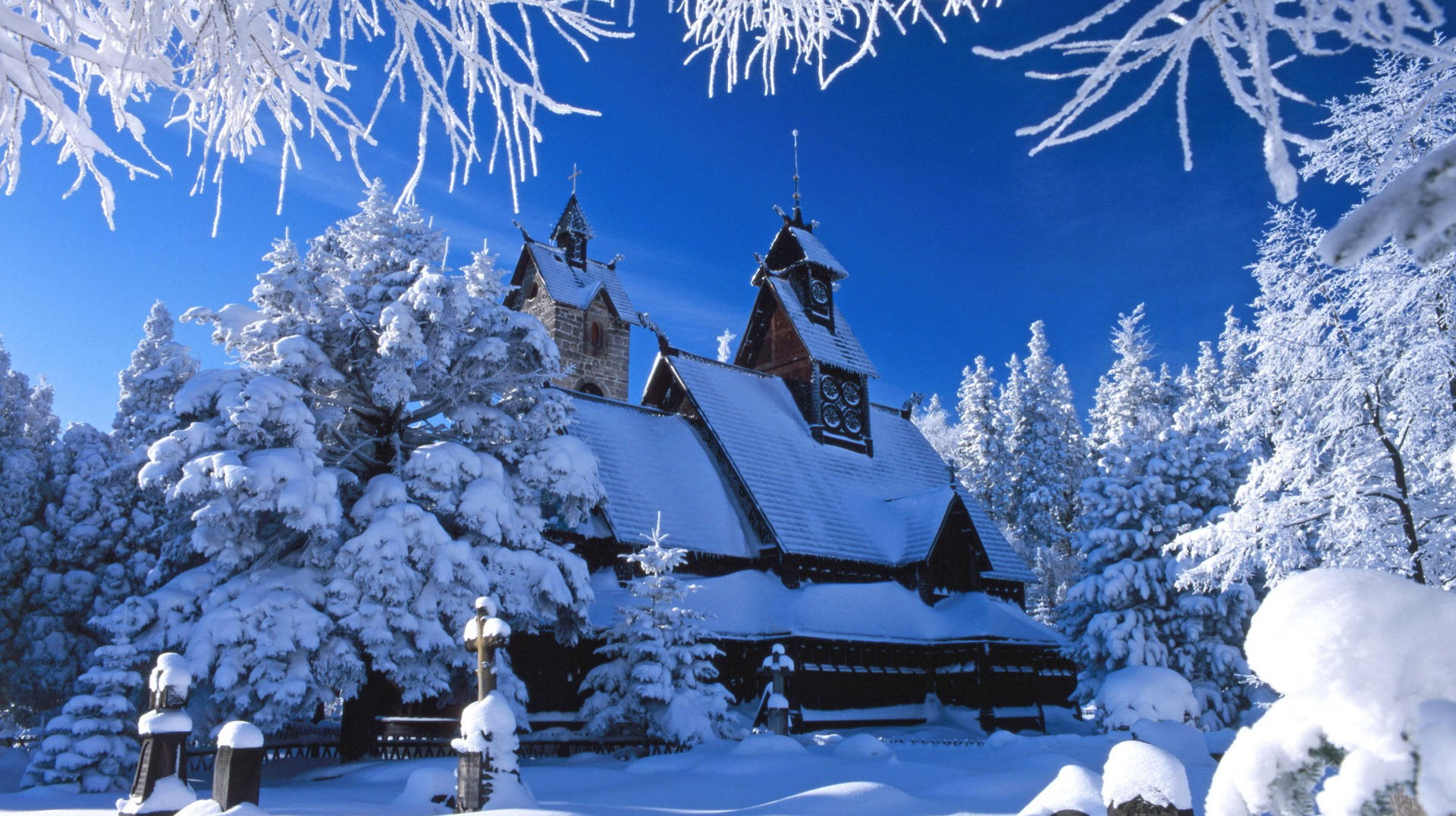 Download Winter Snow Animated Wallpaper 1920x1077