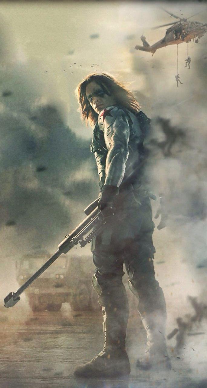 Captain America Winter Soldier Wallpapers Desktop Background Logo 684x1280
