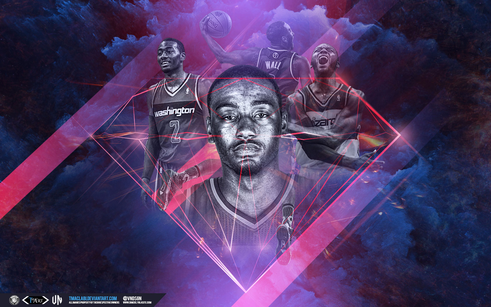 Nba Sports Basketball Washington D The Wizard Movie Wallpapers Wallpapersink Dark Army Wizards Wallpaper High Quality Wallpapers High 1680x1050