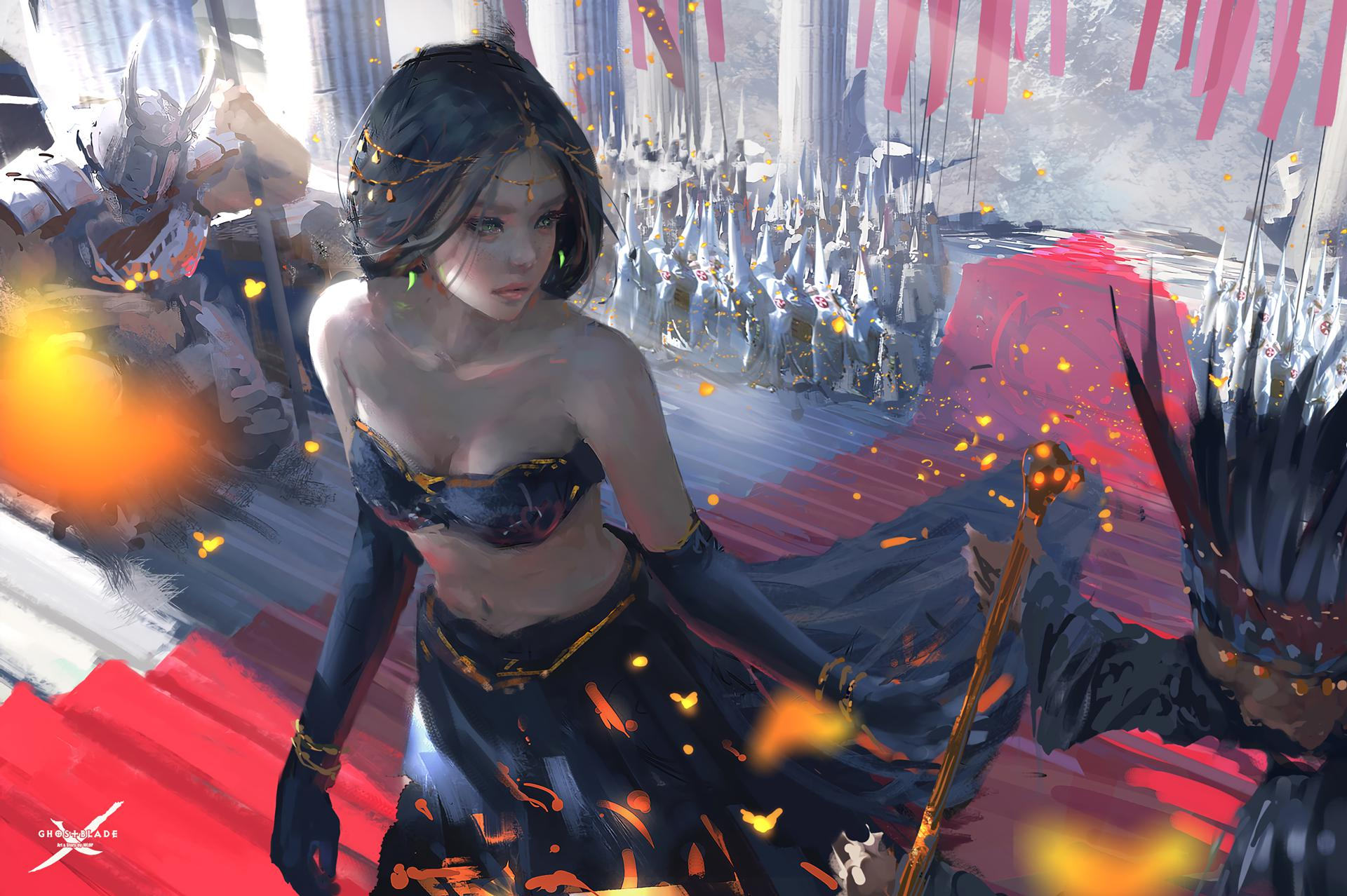 Bride Of Death By Wlop HD Fantasy Girls k Wallpapers Images