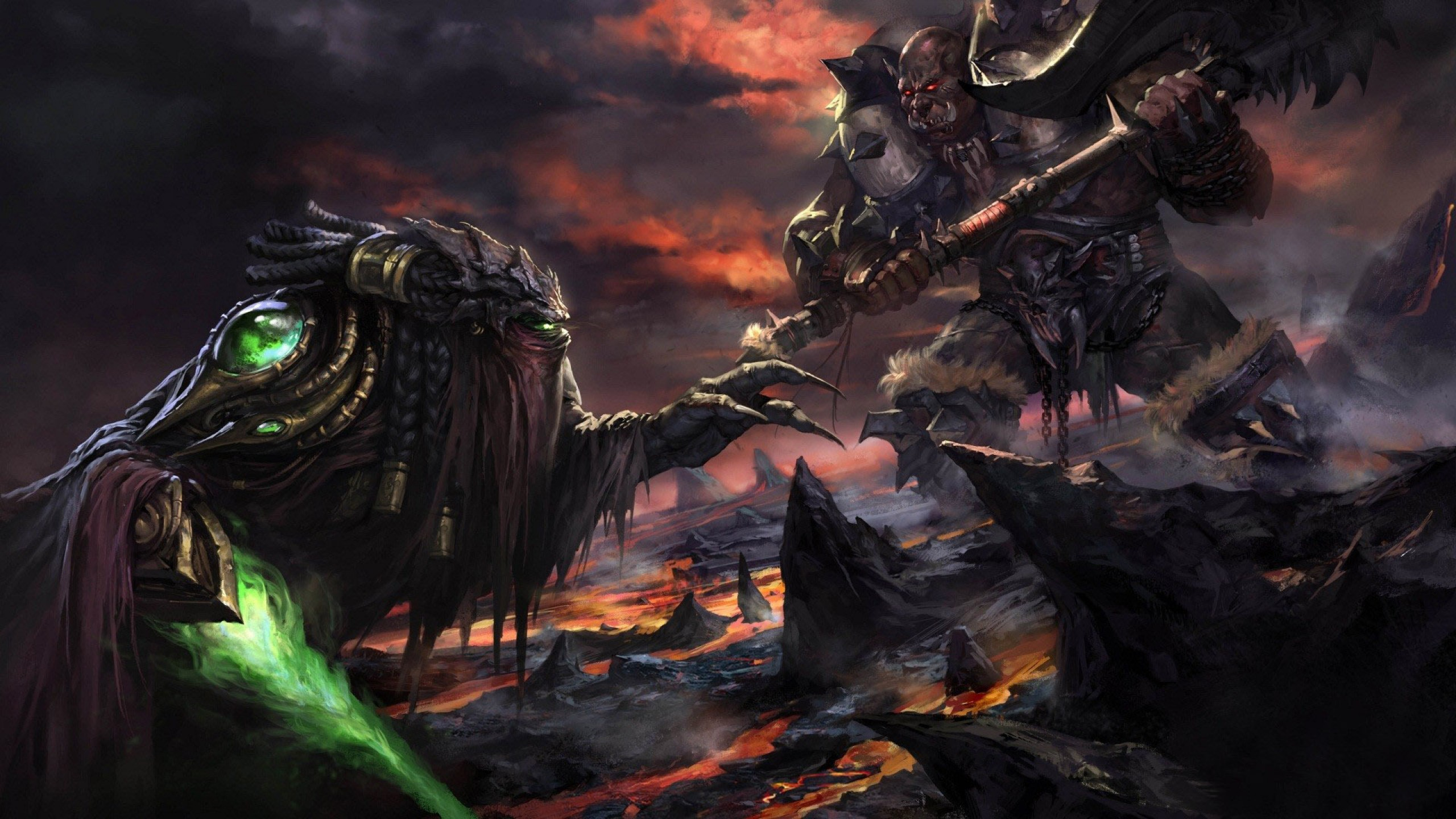 Deathwing Hd Wallpapers Backgrounds 2560x1440