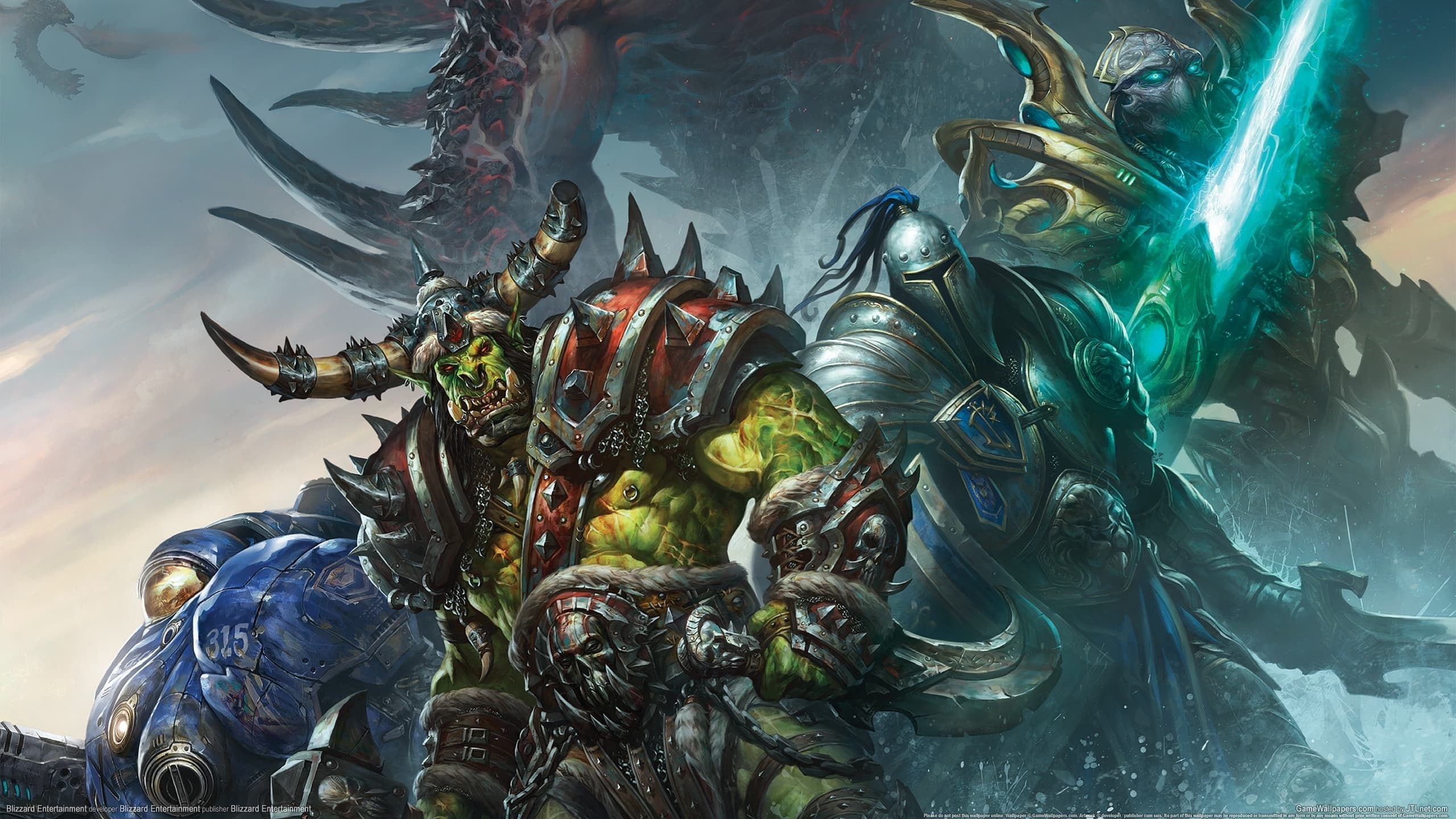 Legion Wallpaper With Wow Models 2560x1440