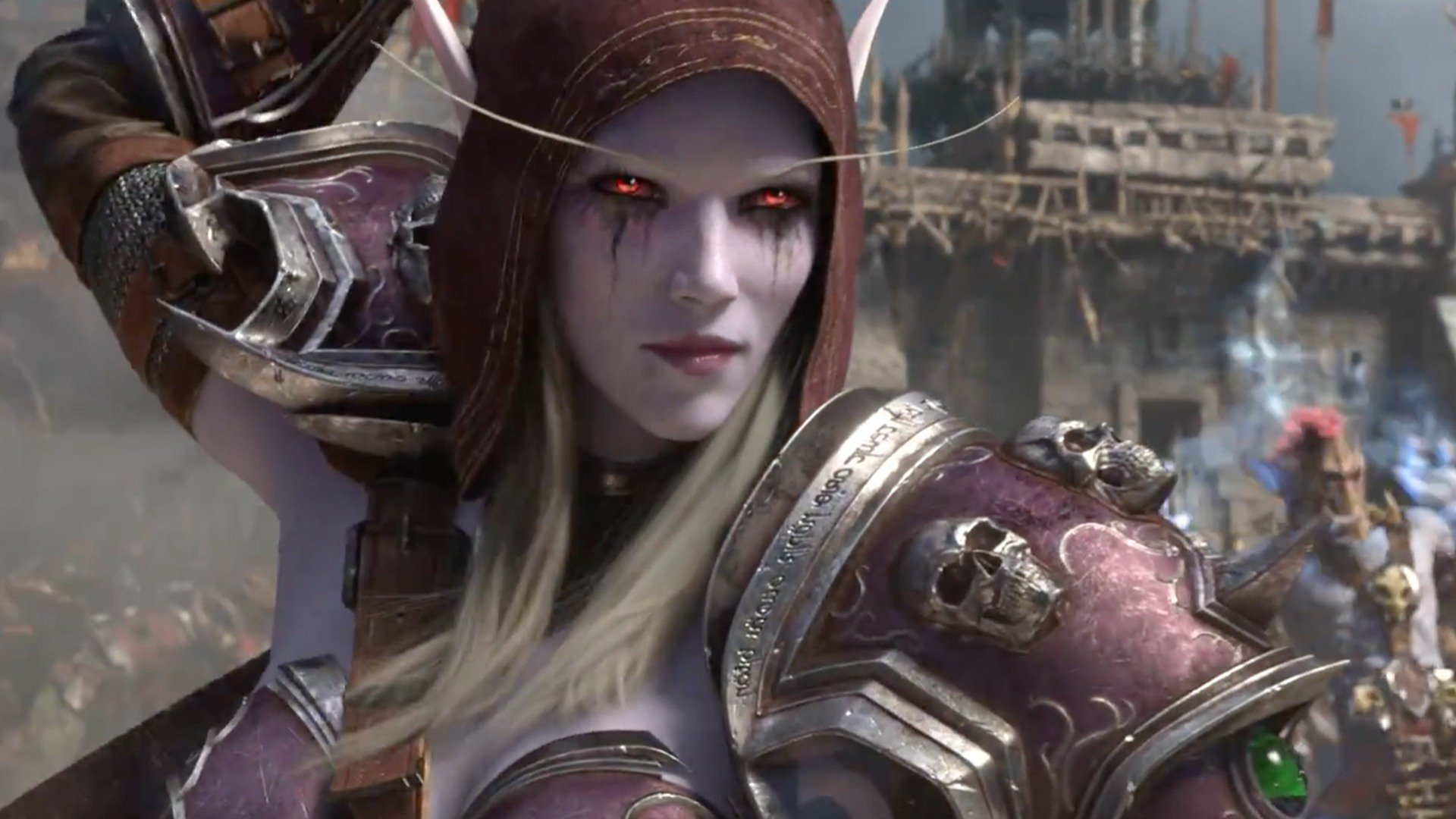 World of Warcraft Battle for Azeroth Intro Cinematic BlizzCon