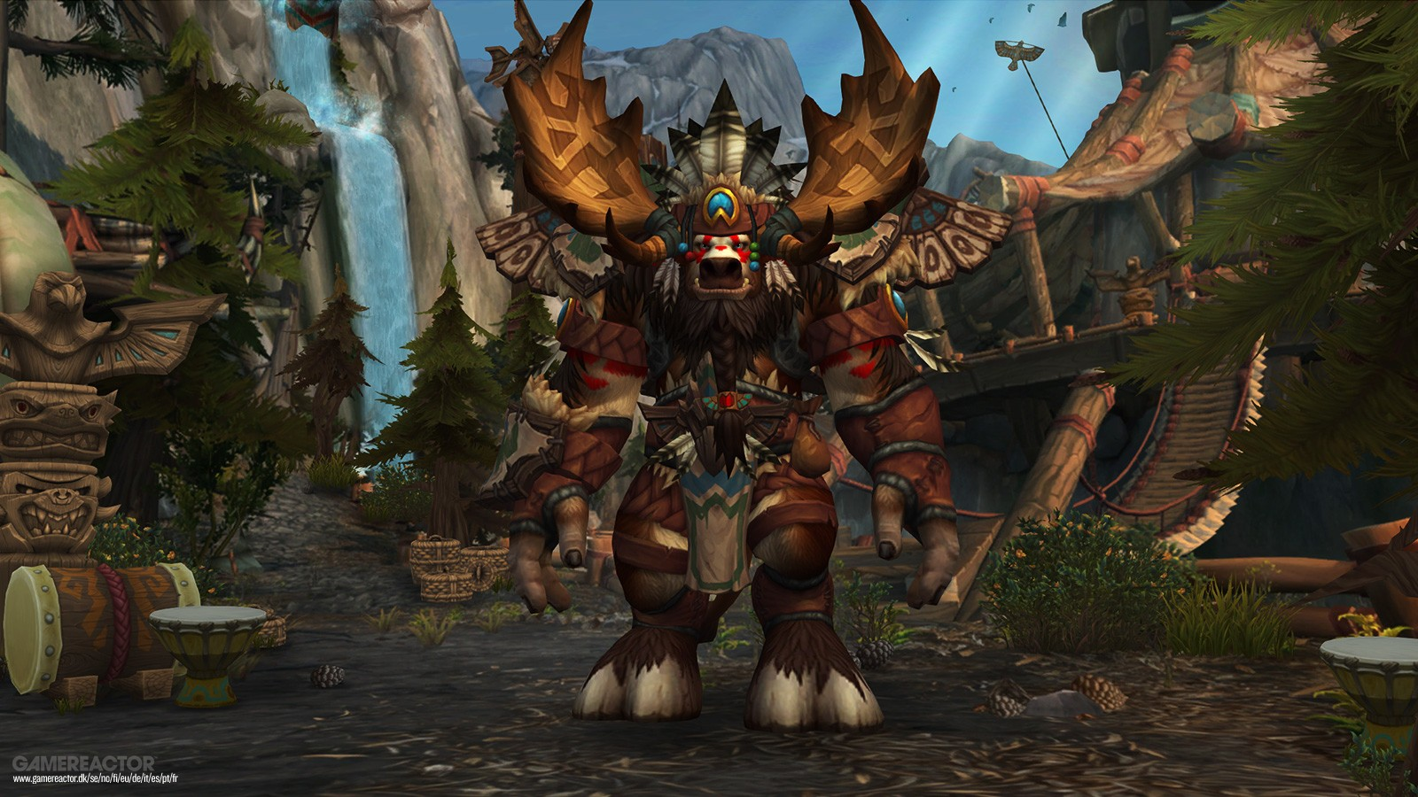 Pictures of World of Warcraft Allied Races and the Old World