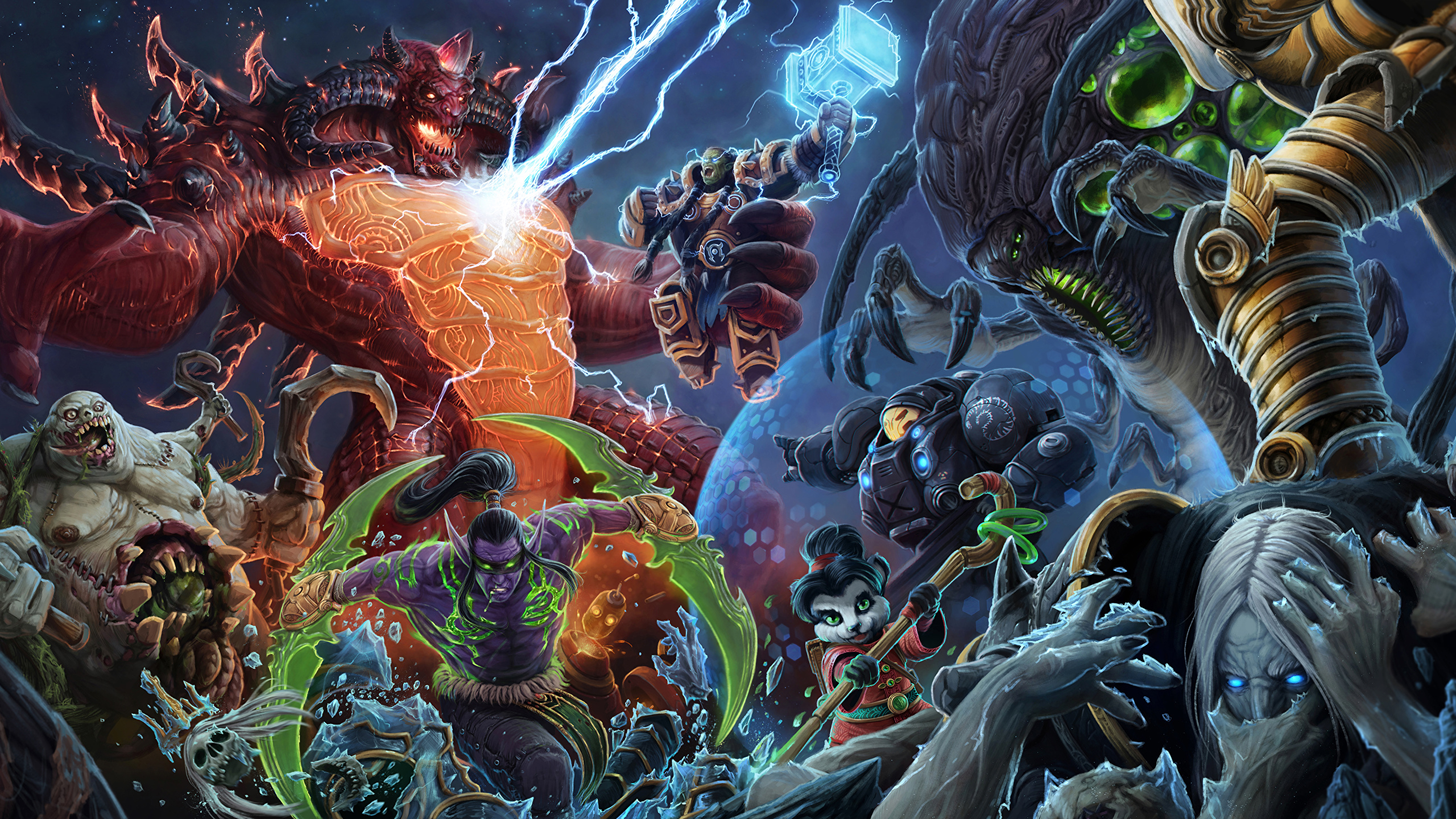 Pictures WoW Diablo StarCraft Heroes of the Storm Warriors x