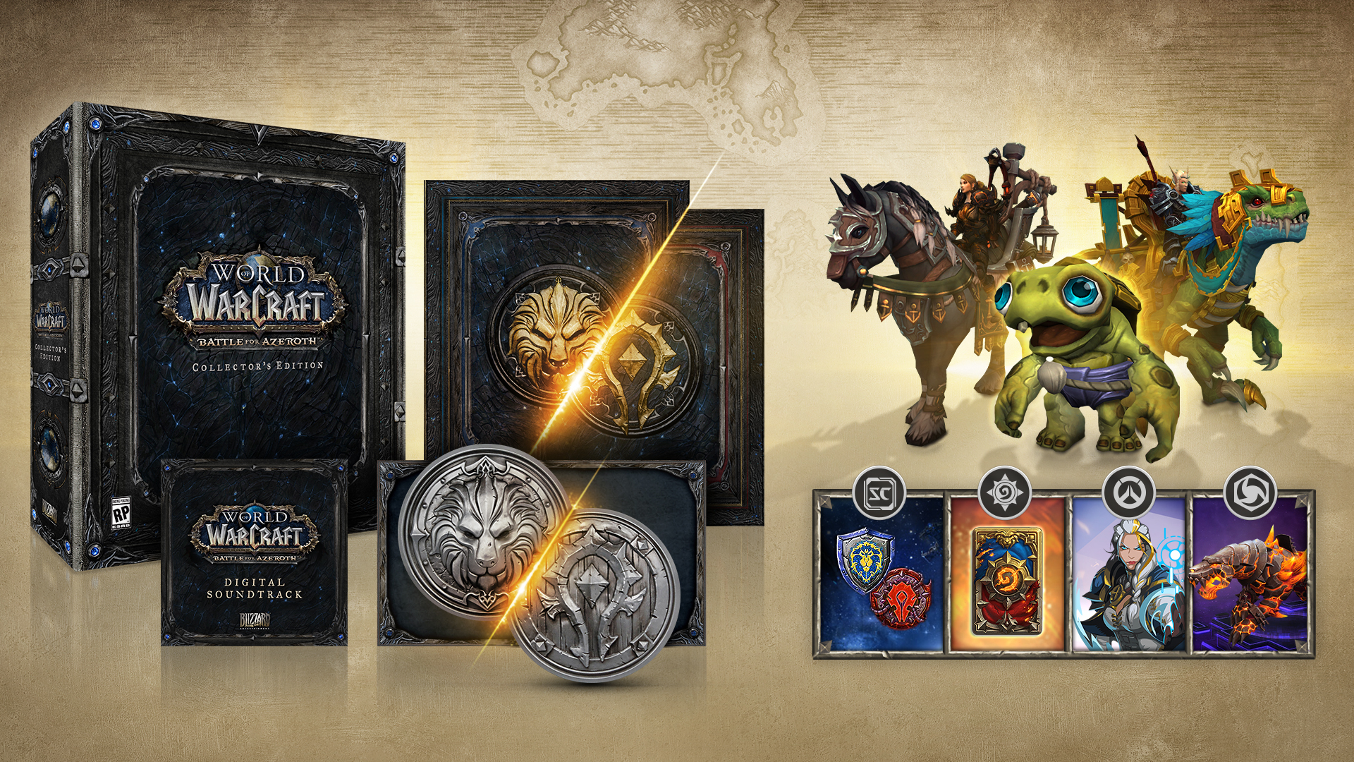 Prepare to Join the Battle for Azeroth™New World of Warcraft