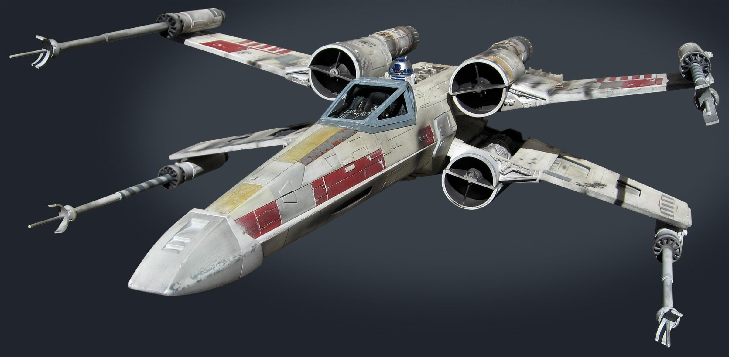 Yoda Empire Strikes Back Xwing Wallpaper X Wing Fighter Wallpaper 2400x1175