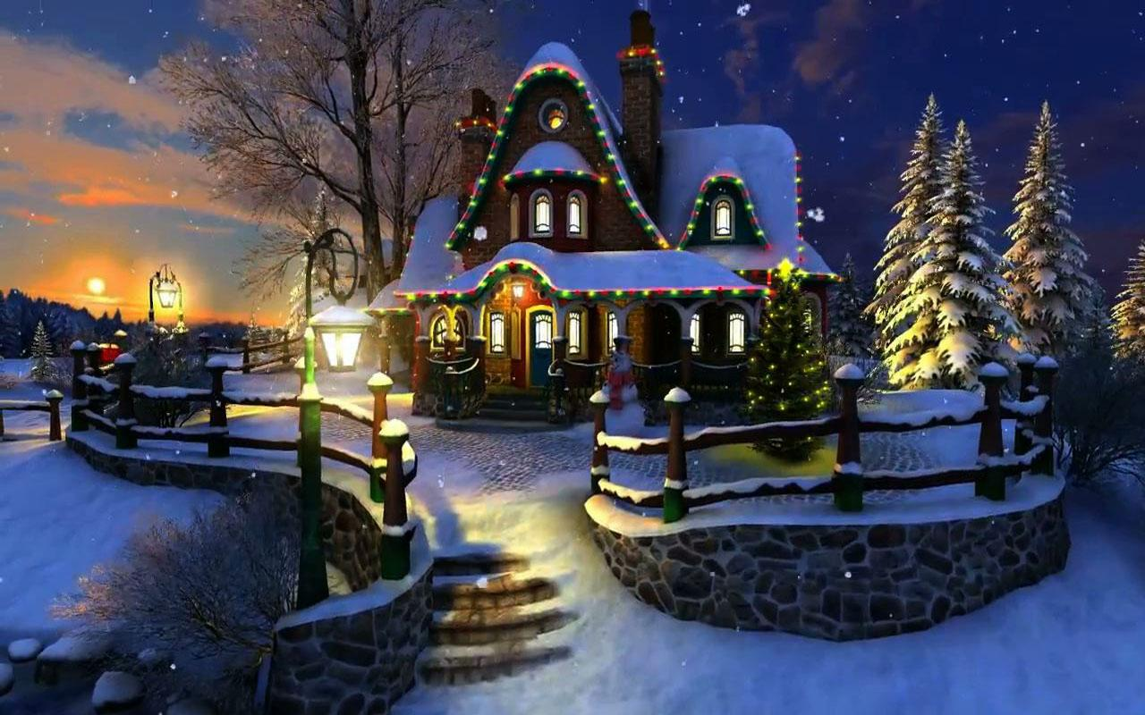 Download Live Christmas Wallpaper Android Gallery 1280x800