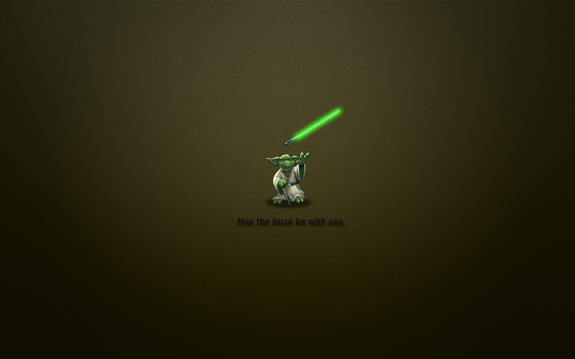 Master Yoda Quote Wallpaper 1920x1200