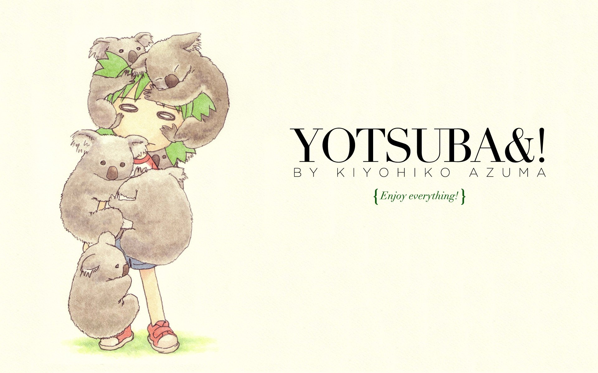 Text quotes grass yotsuba wallpaper  WallpaperUP 1920x1200