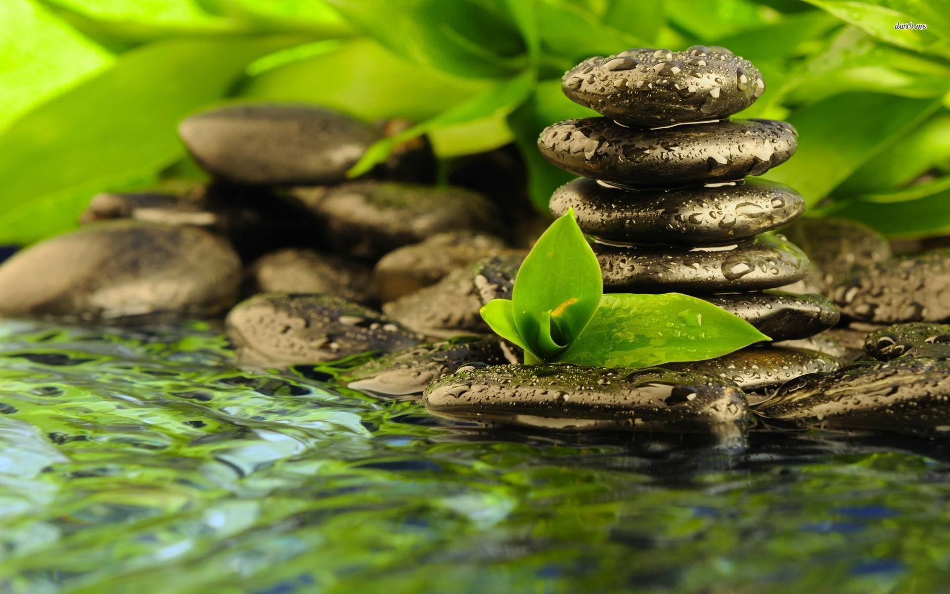 Group Of Zen Stones Wallpaper Hd Desktop