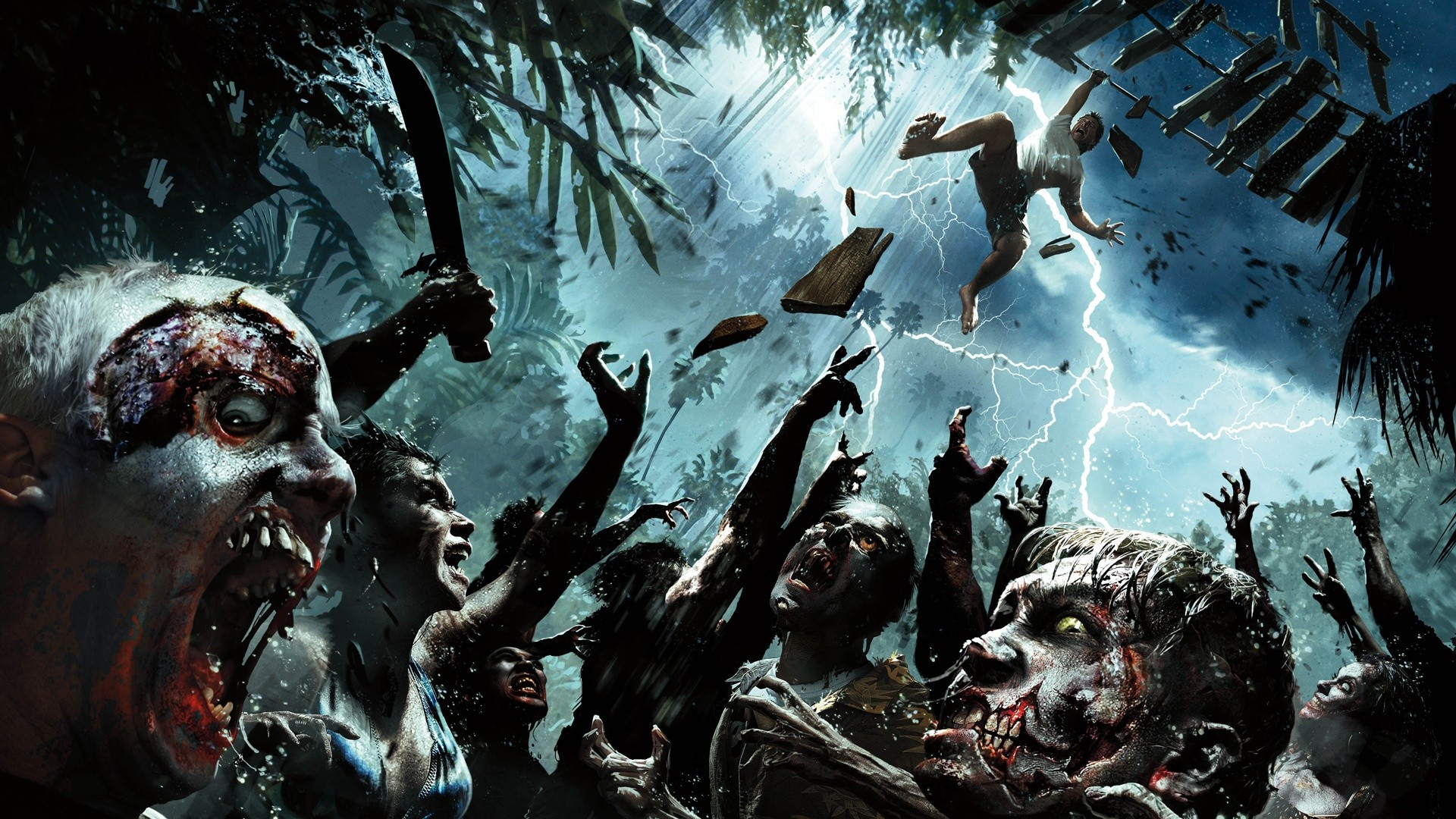zombie horde wallpaper hd  Google Search  Zombies and monsters 1920x1080