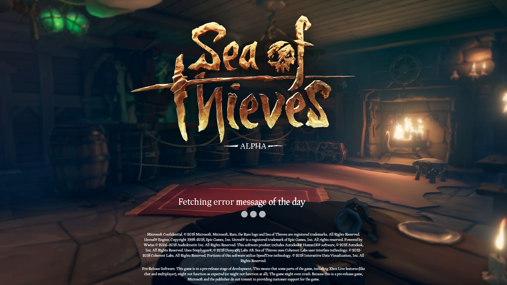 Realistic Sea Of Thieves Loading Screen [Humor