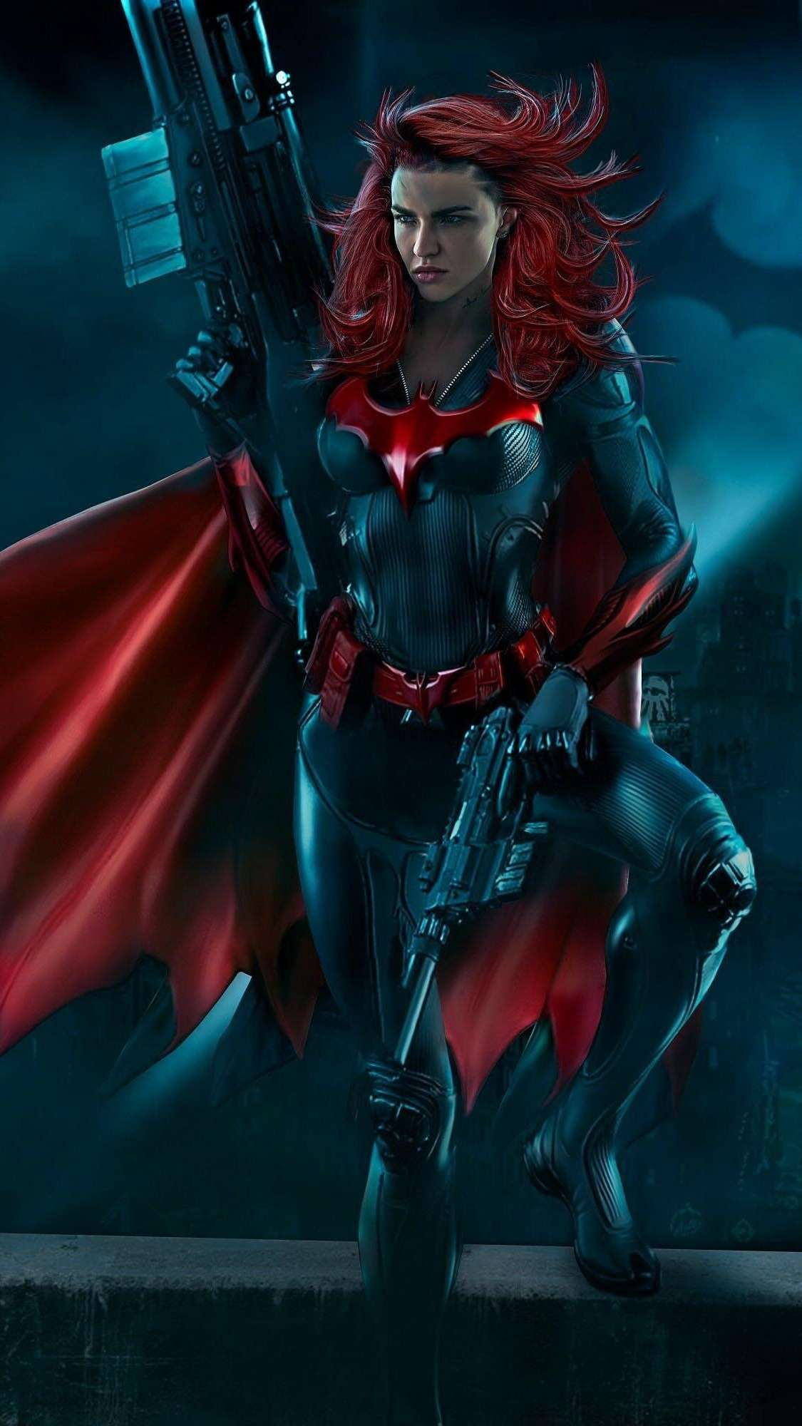 Download The Batwoman Wallpaper Top