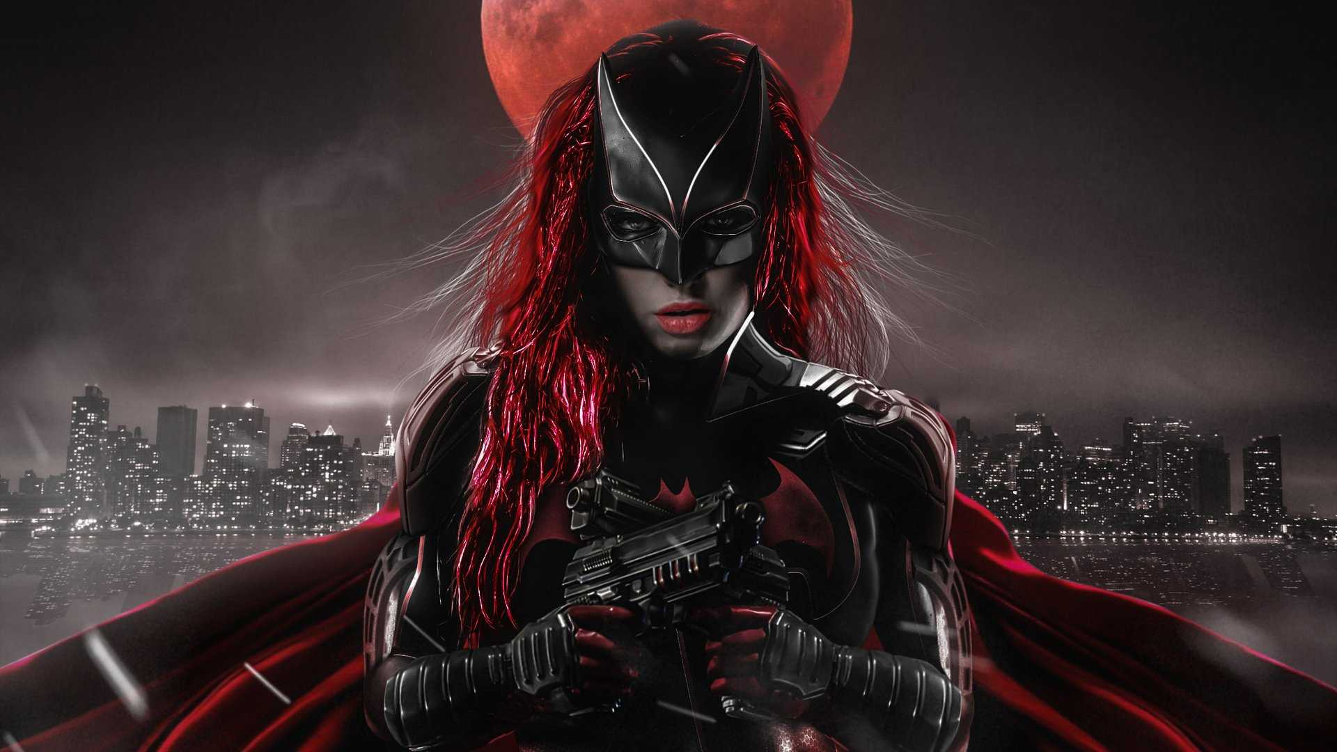 Ruby Rose AS Batwoman Artwork HD