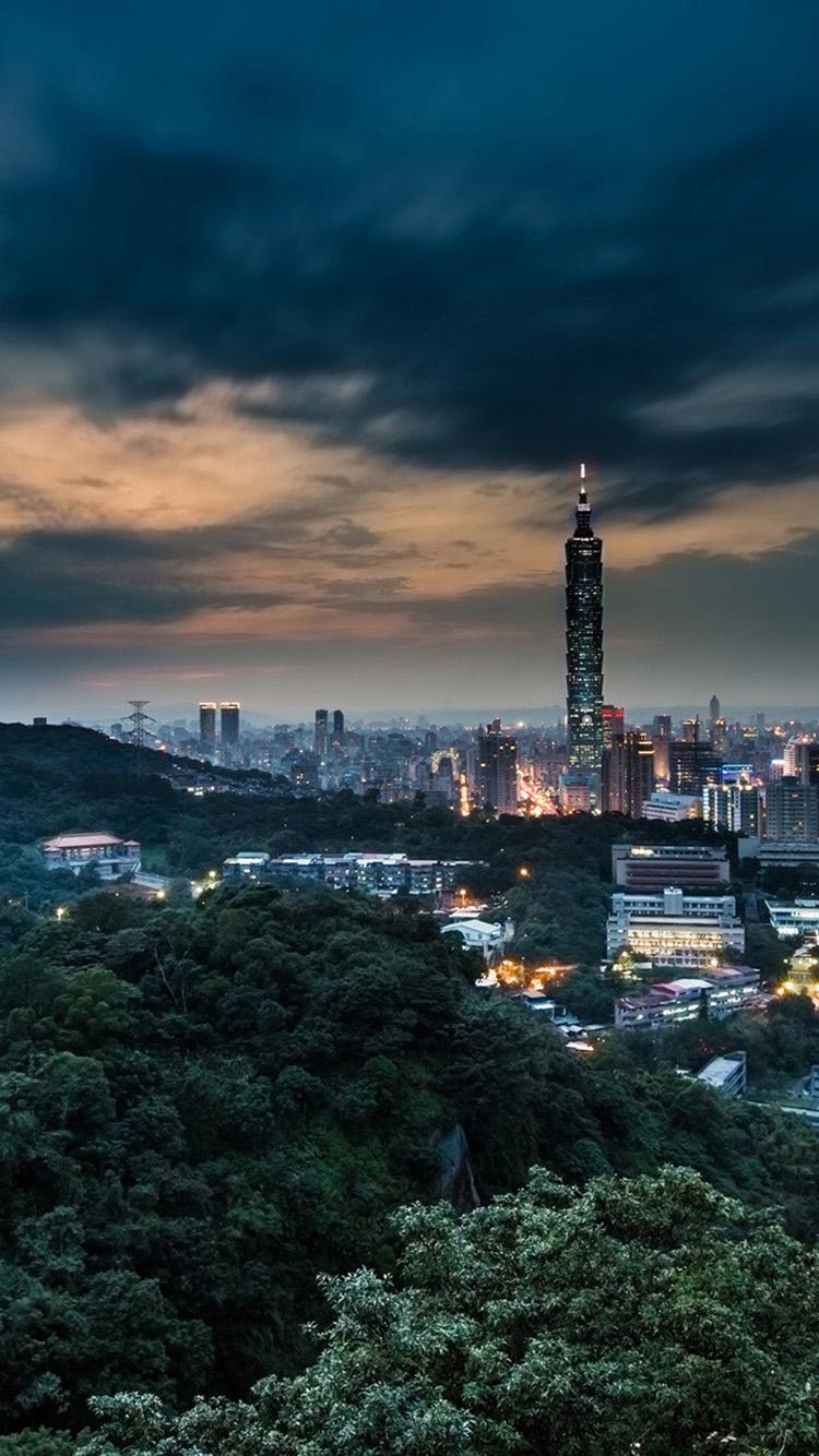 Night City Wallpaper Iphone 6 001