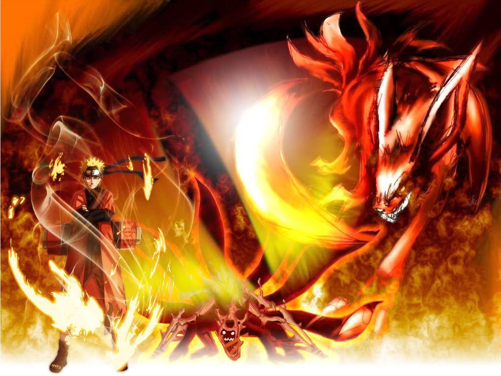 Naruto Kurama Mode Wallpapers 002