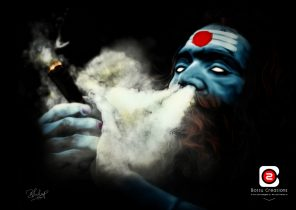 Lord shiva wallpapers while smoking