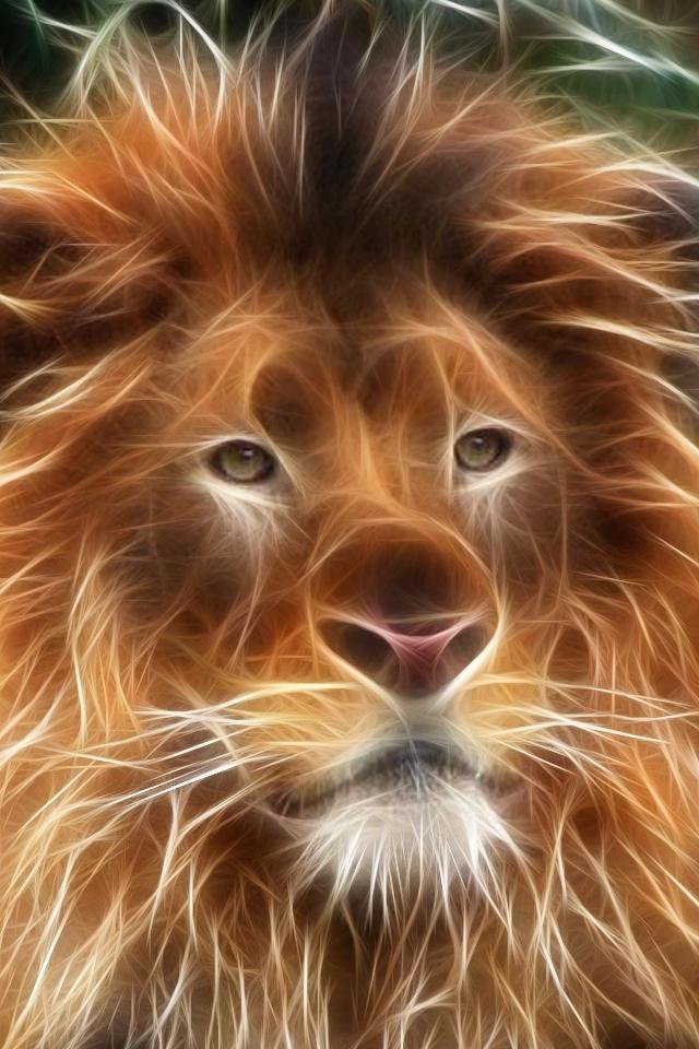 3d lion 1280 - photo #14