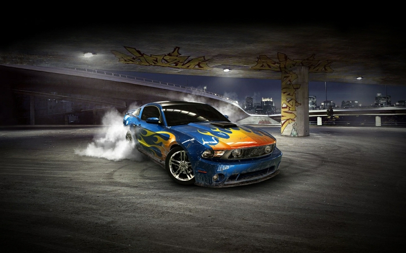 D Cars Wallpapers For Desktop 800x500