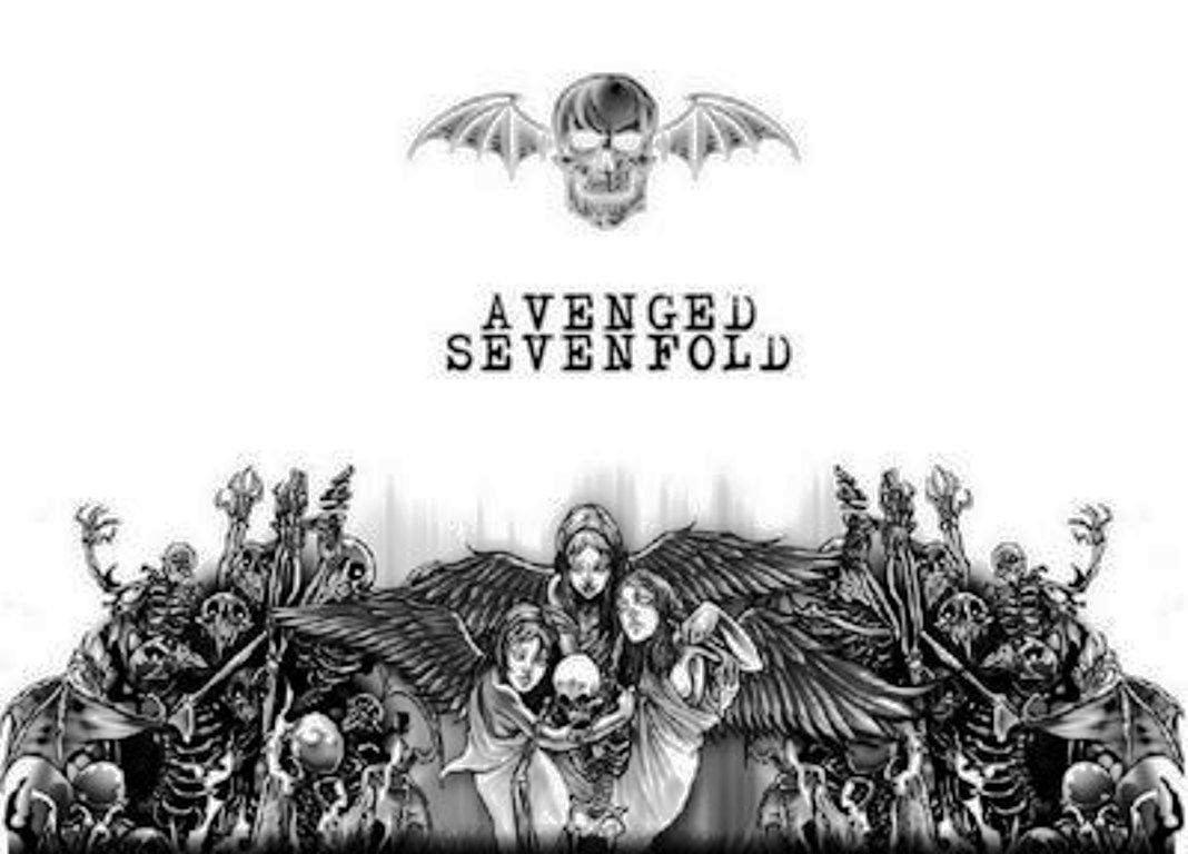 Avenged Sevenfold Deathbat Wallpaper 1068x768