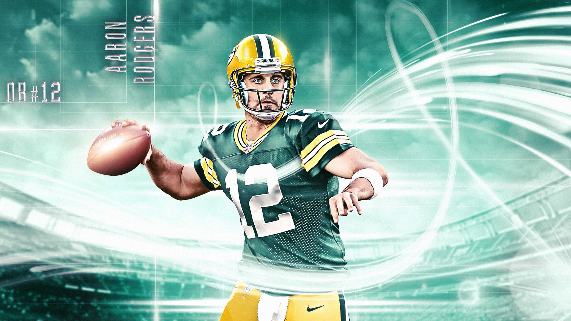 Aaron Rodgers free HD Wallpapers 1920x1080