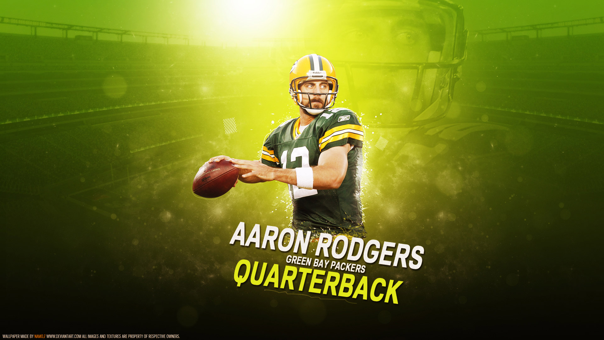 Celebrating K Aaron Rodgers Wallpapers  Free K Wallpaper 1920x1080